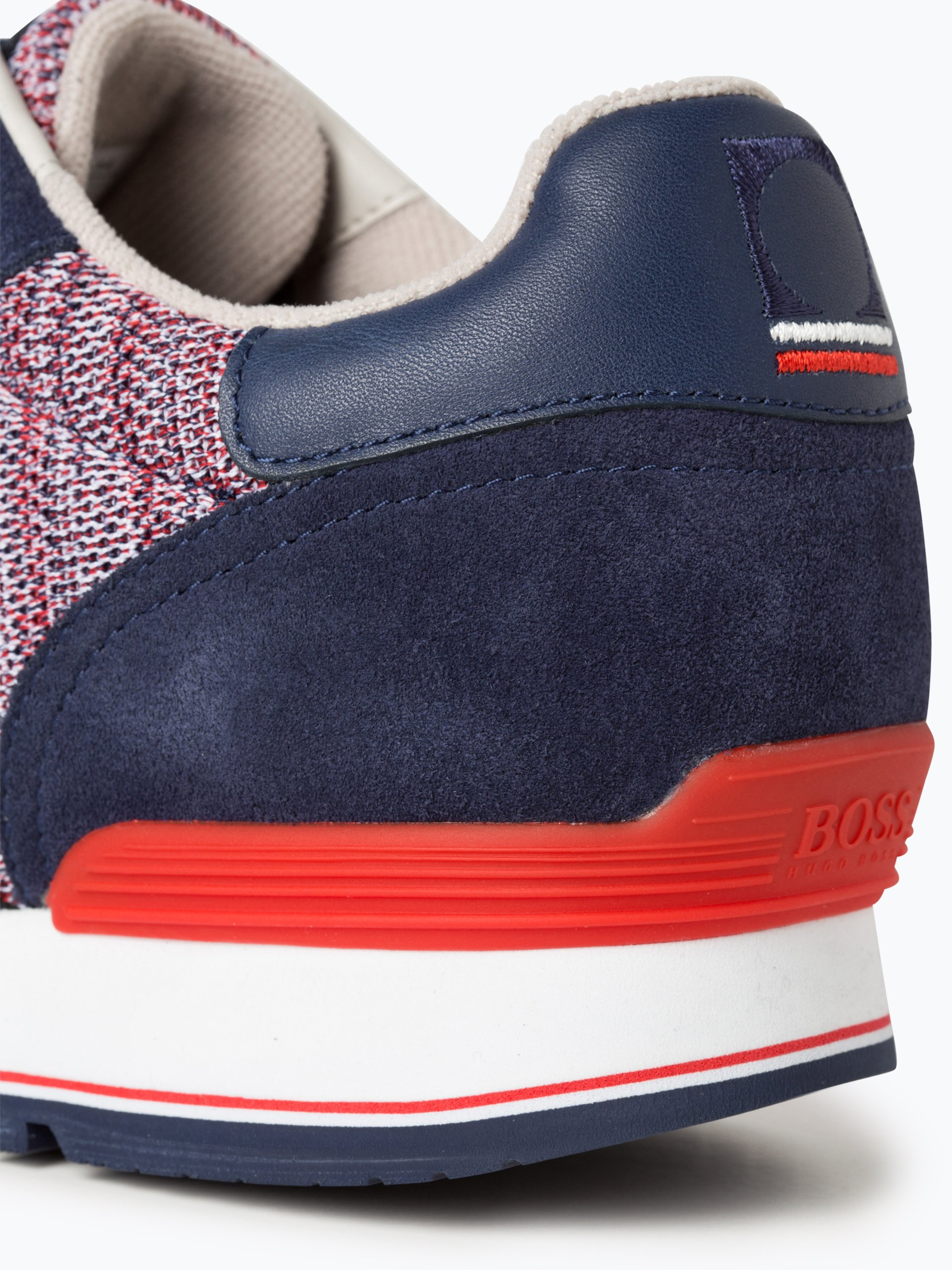 BOSS Athleisurewear Herren Sneaker mit Leder-Anteil - Parkour_Runn_flag
