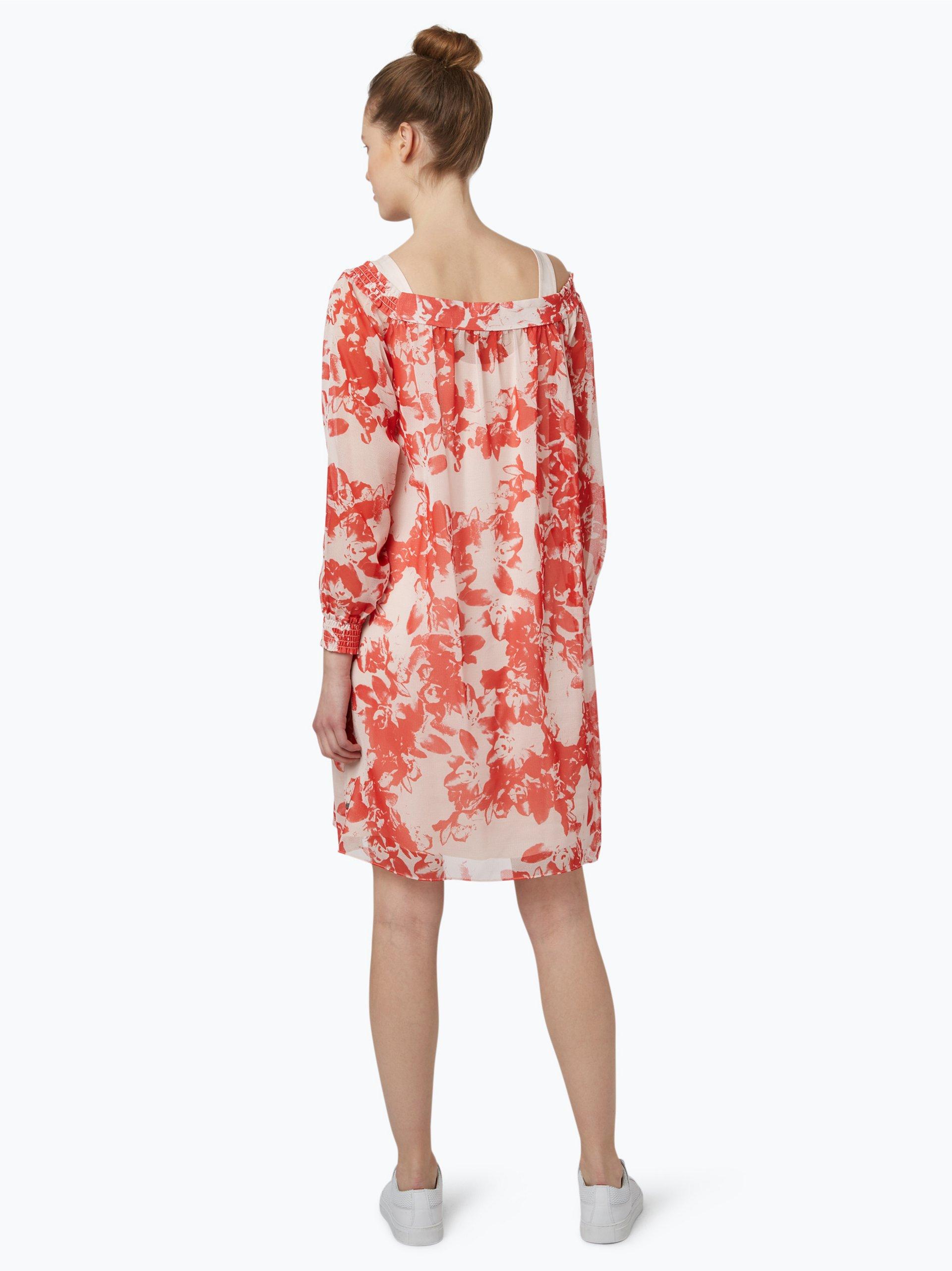 boss casual damen kleid acarmy rot gemustert online kaufen peek und cloppenburg de. Black Bedroom Furniture Sets. Home Design Ideas