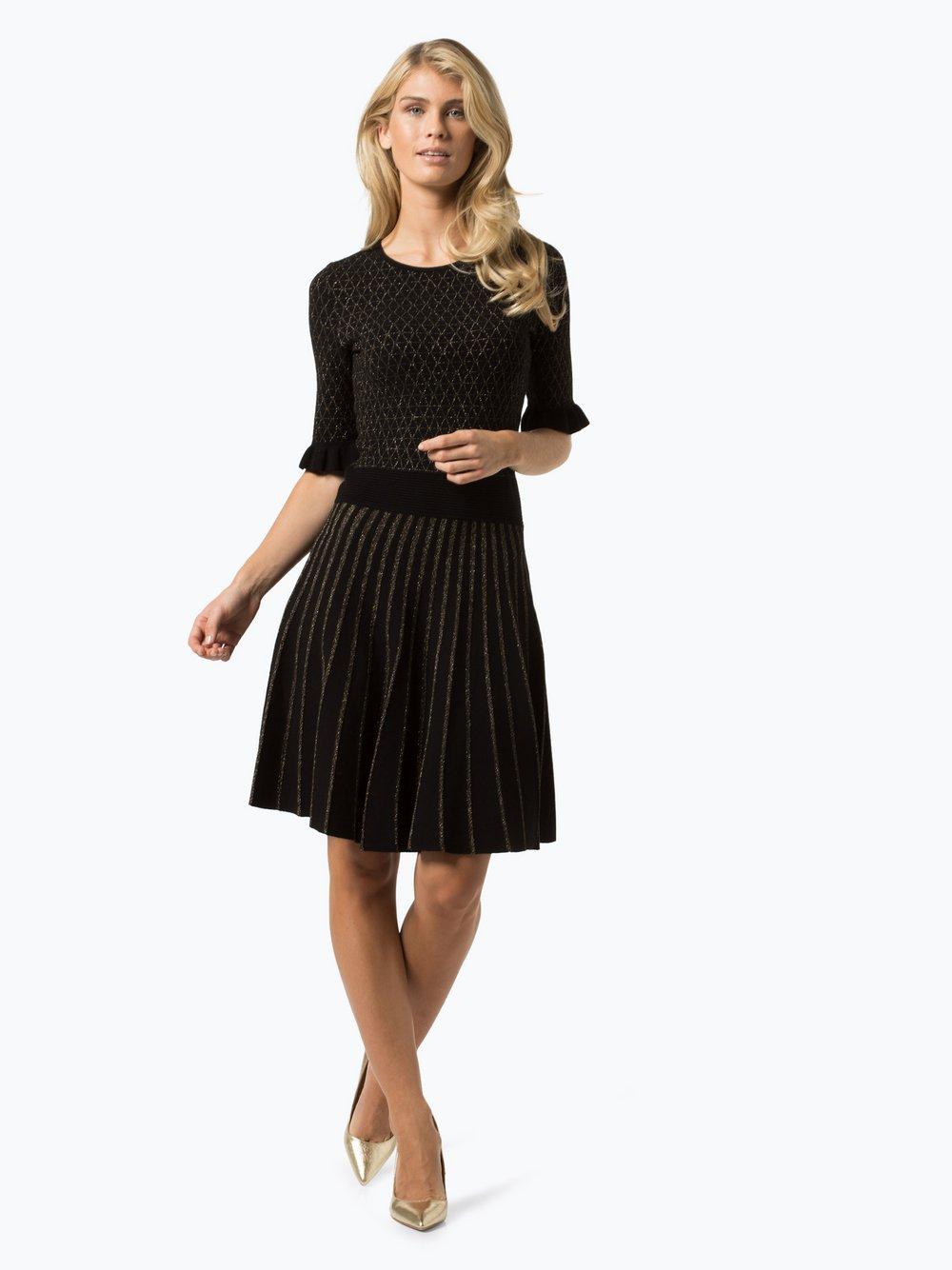 BOSS Casual Damen Kleid - Illora schwarz gold gemustert online ...