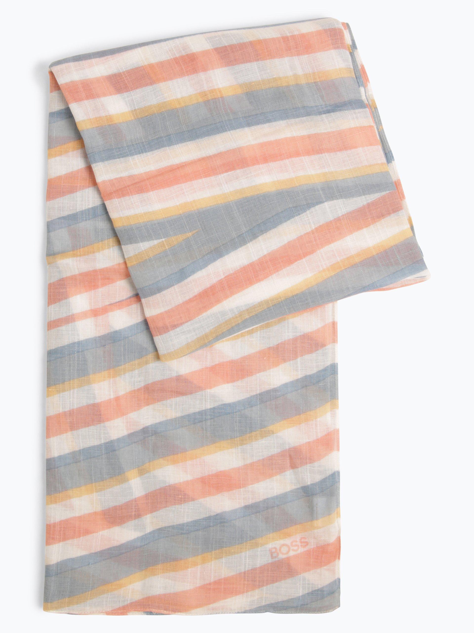 BOSS Casual Damen Schal mit Leinen-Anteil - Nawa