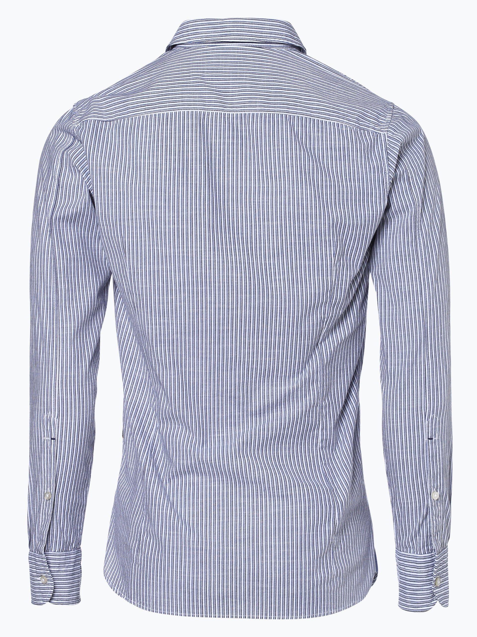 boss casual herren hemd cattitude 1 blau gestreift online kaufen peek und cloppenburg de. Black Bedroom Furniture Sets. Home Design Ideas