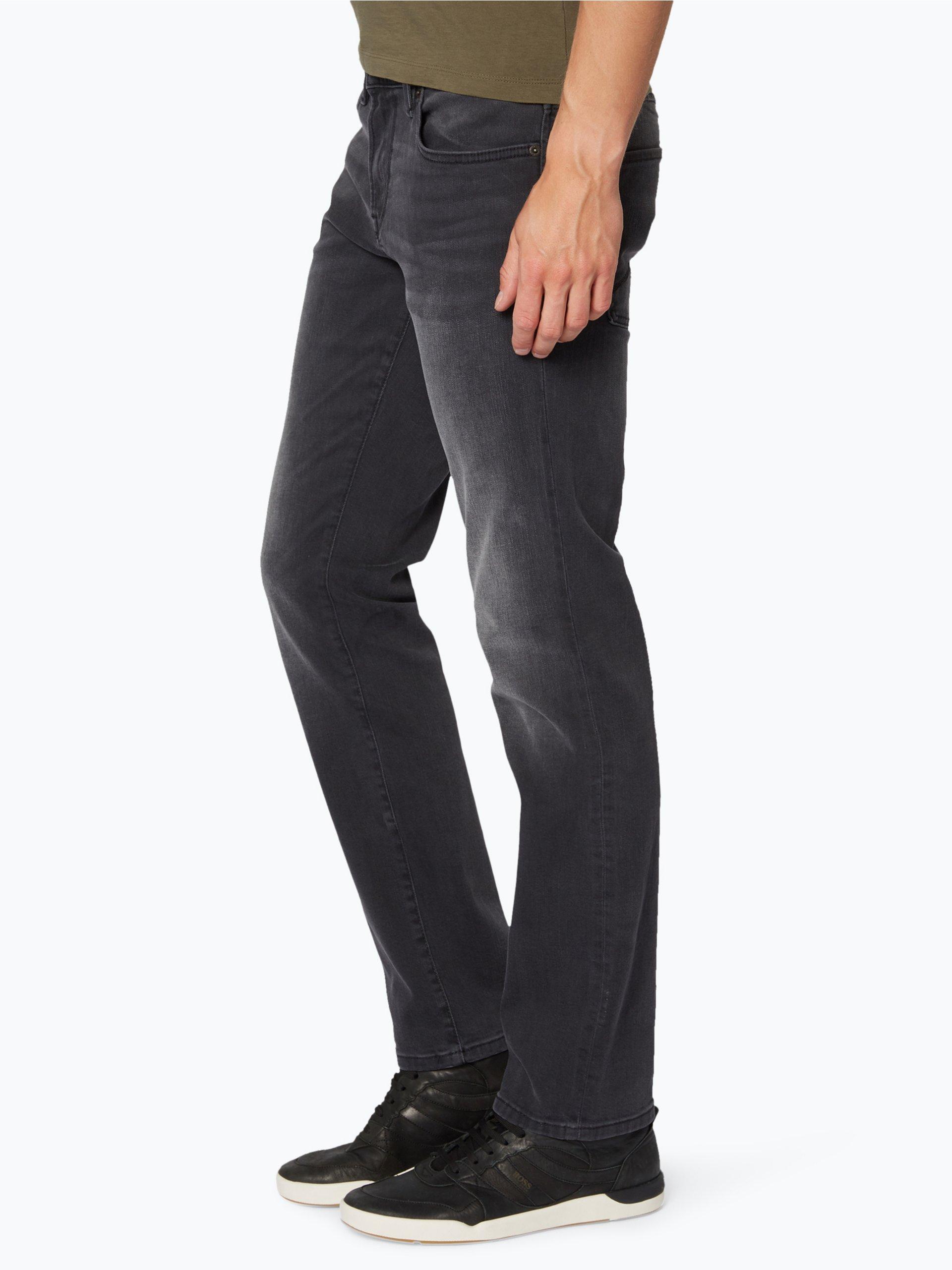 boss casual herren jeans barcelona anthrazit uni online kaufen vangraaf com. Black Bedroom Furniture Sets. Home Design Ideas