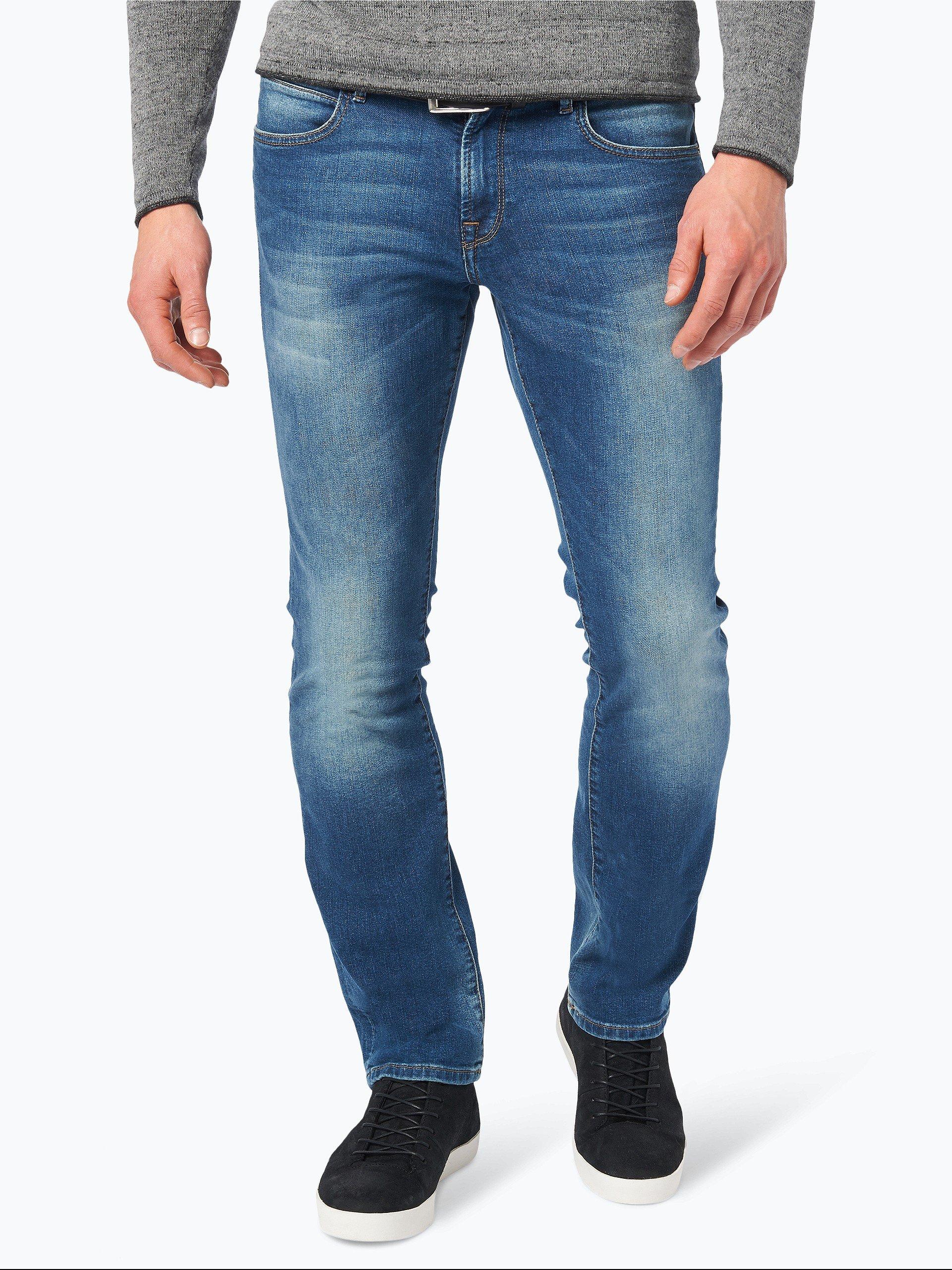 boss casual herren jeans orange 24 barcelona medium stone uni online kaufen vangraaf com. Black Bedroom Furniture Sets. Home Design Ideas