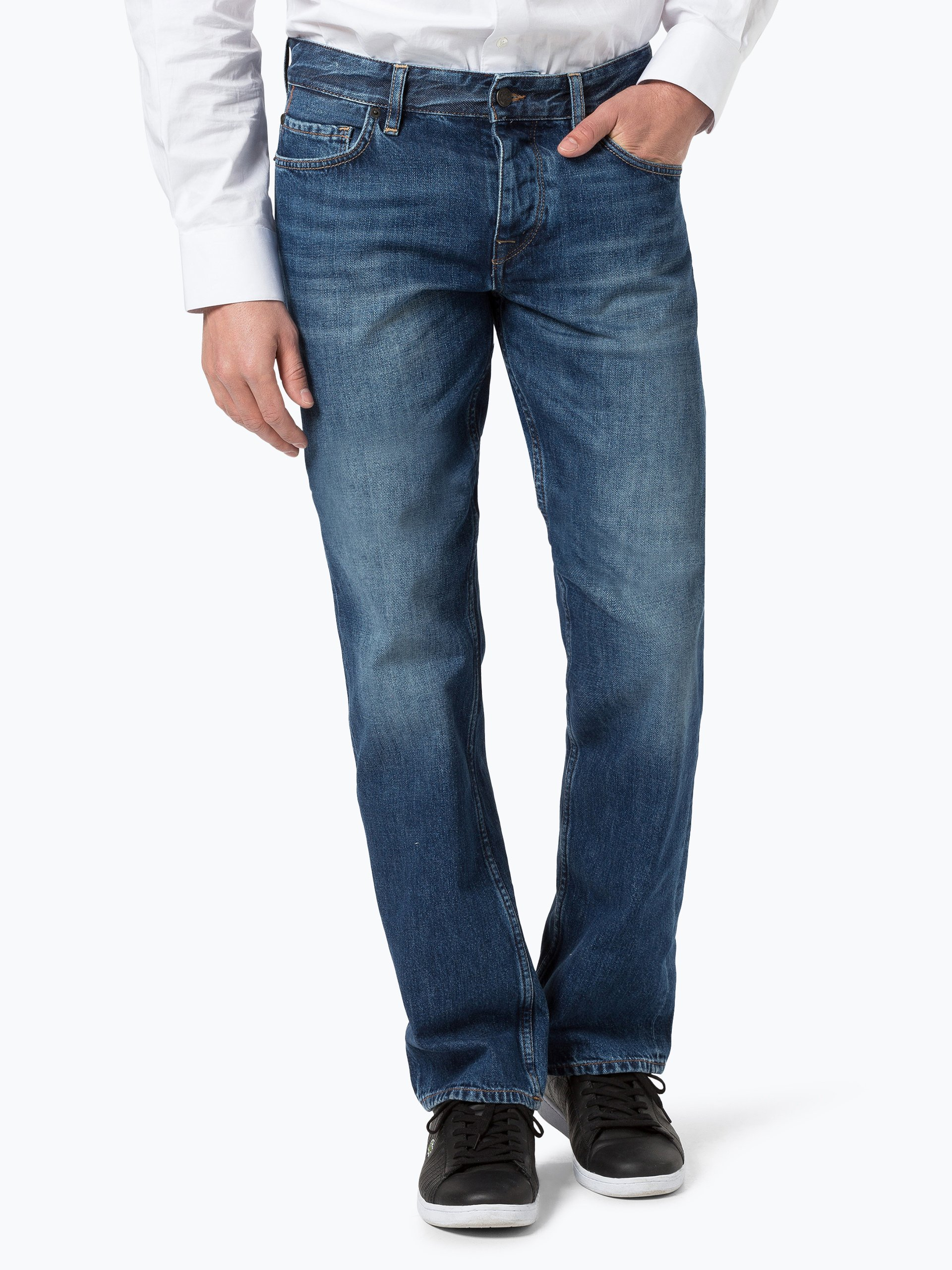 boss casual herren jeans orange 25 online kaufen vangraaf com. Black Bedroom Furniture Sets. Home Design Ideas