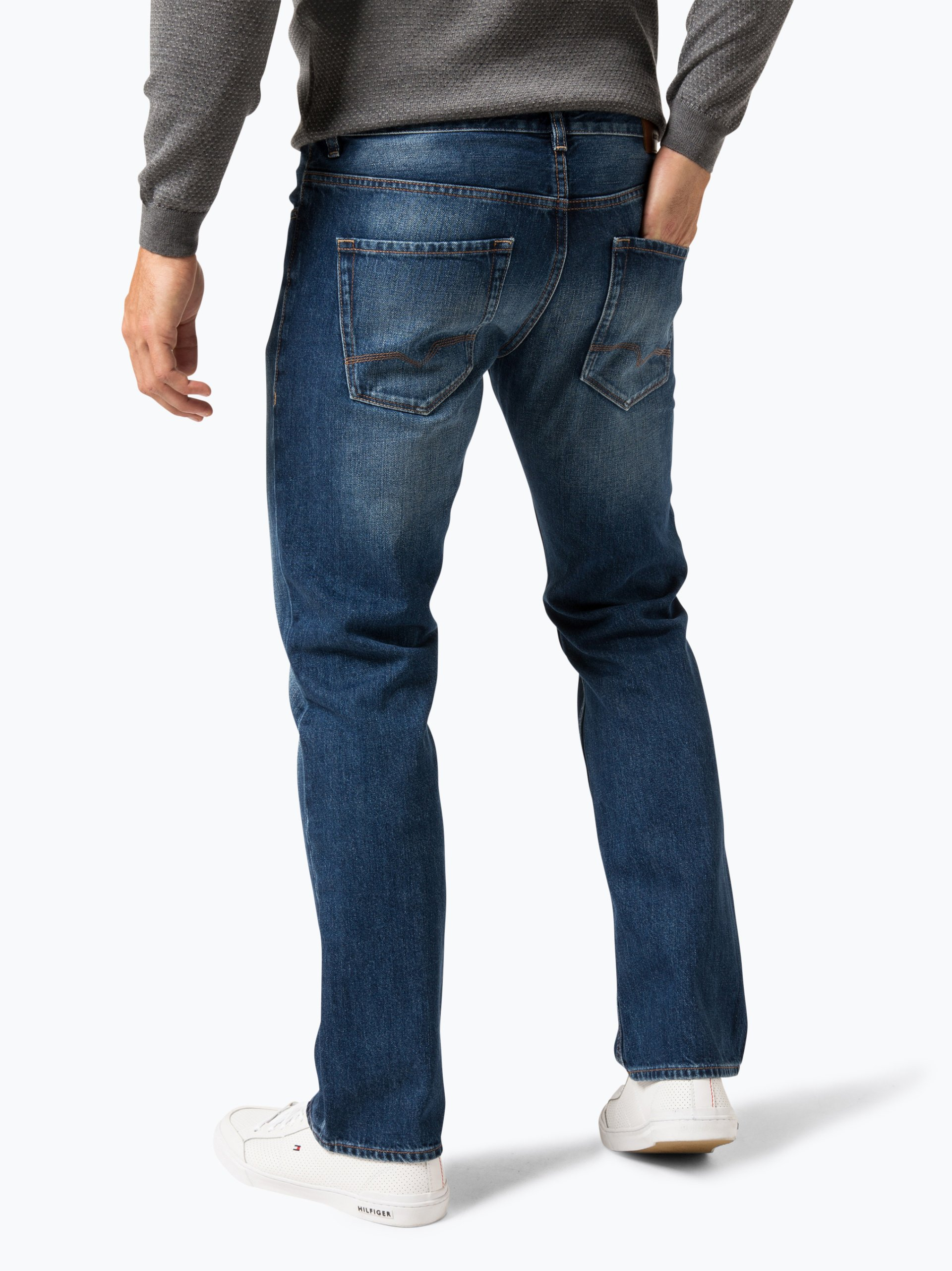 boss casual herren jeans orange 25 marine uni online kaufen vangraaf com. Black Bedroom Furniture Sets. Home Design Ideas