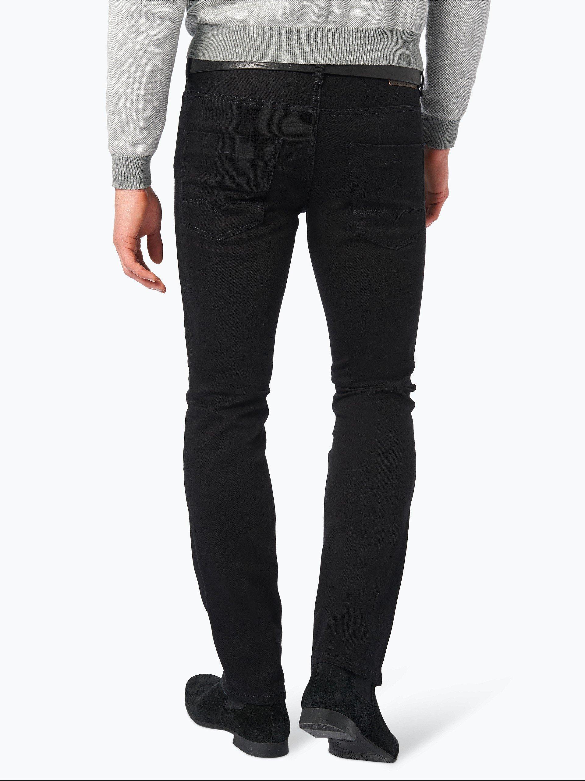 boss casual herren jeans orange 63 schwarz uni online kaufen vangraaf com. Black Bedroom Furniture Sets. Home Design Ideas
