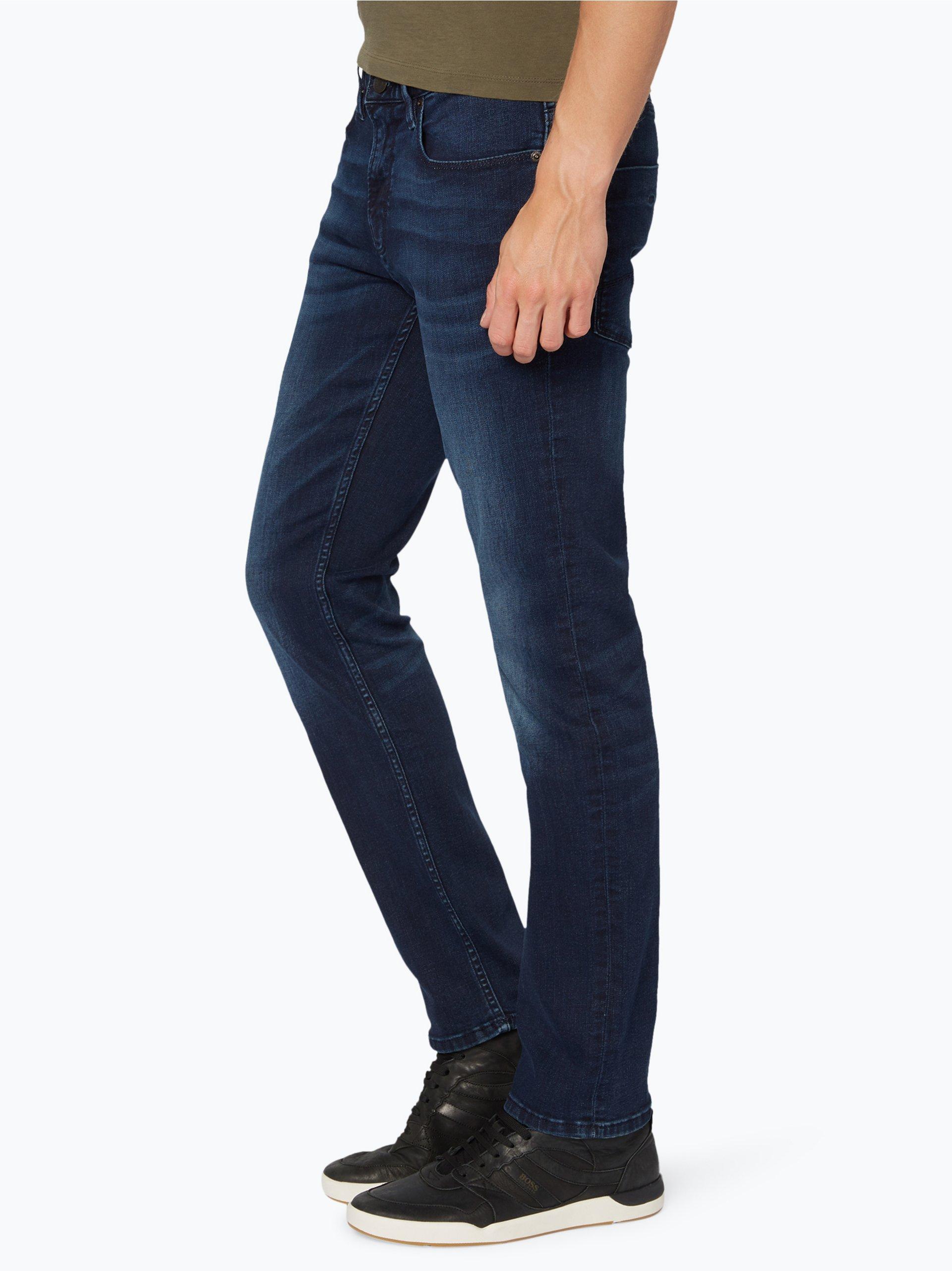 boss casual herren jeans orange 63 dark stone uni online kaufen vangraaf com. Black Bedroom Furniture Sets. Home Design Ideas