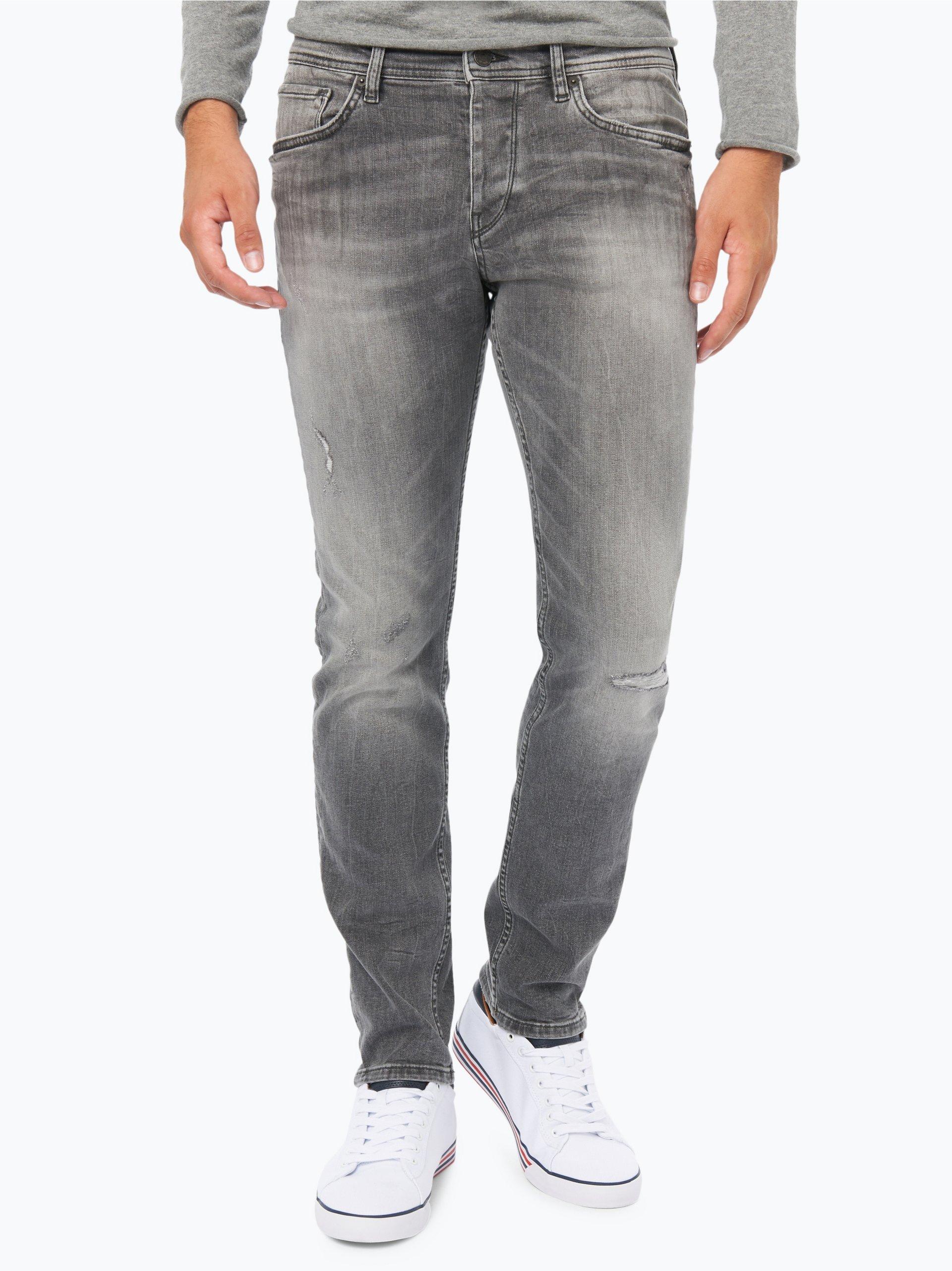 boss casual herren jeans orange 90 grau uni online kaufen vangraaf com. Black Bedroom Furniture Sets. Home Design Ideas