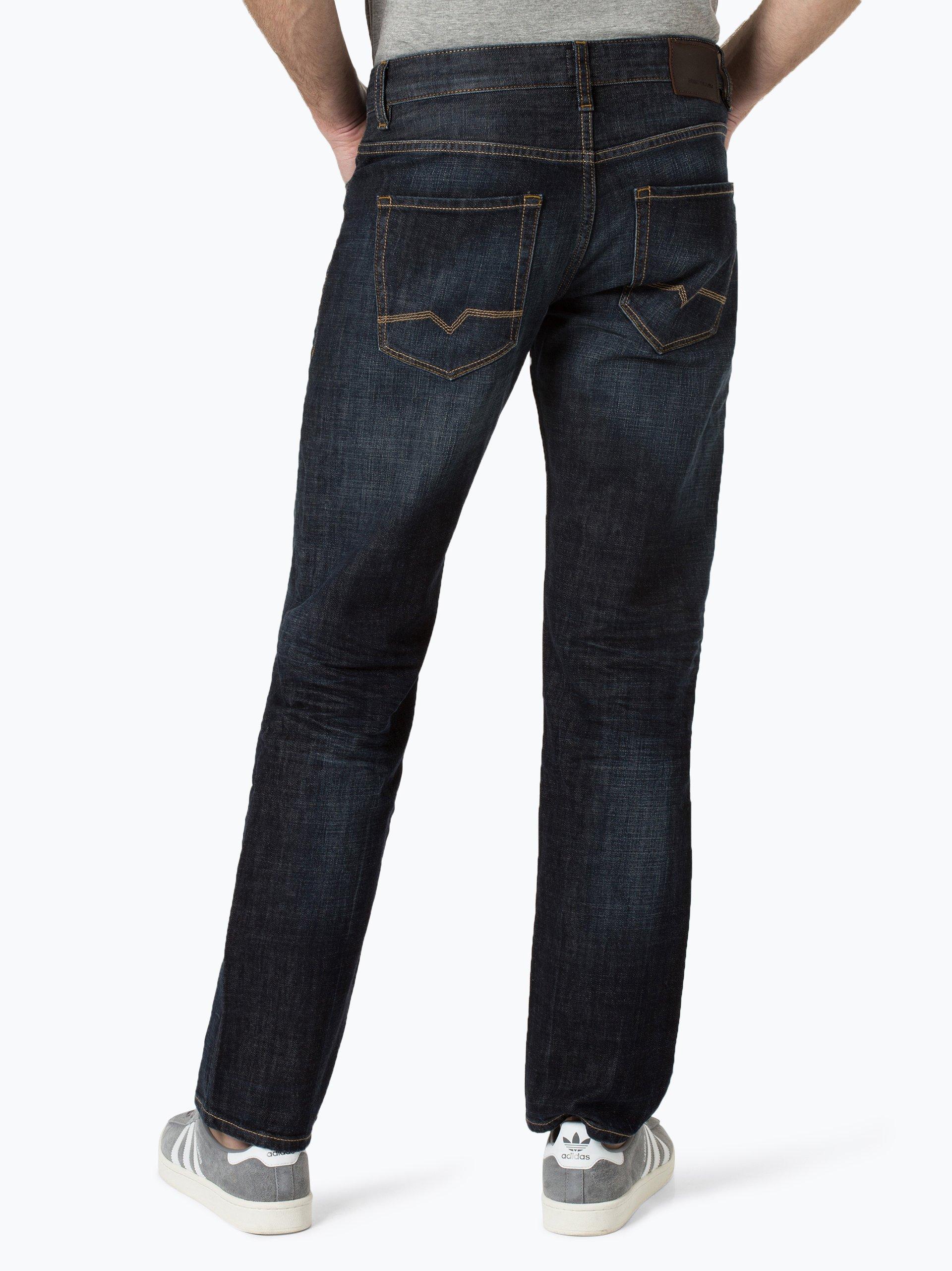 boss casual herren jeans orange25 dark stone blau uni online kaufen vangraaf com. Black Bedroom Furniture Sets. Home Design Ideas