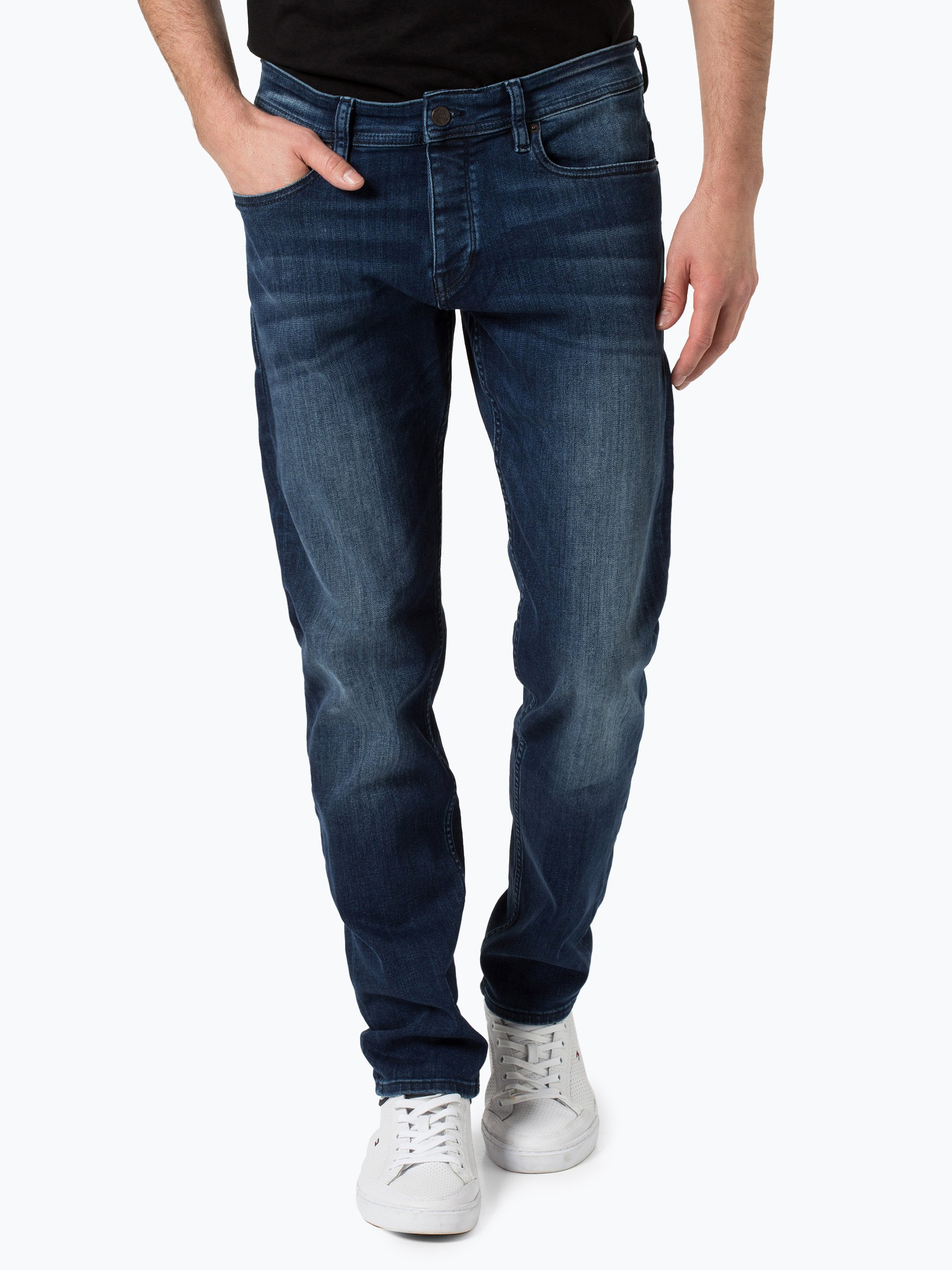 boss casual herren jeans orange90 blau uni online kaufen peek und cloppenburg de. Black Bedroom Furniture Sets. Home Design Ideas