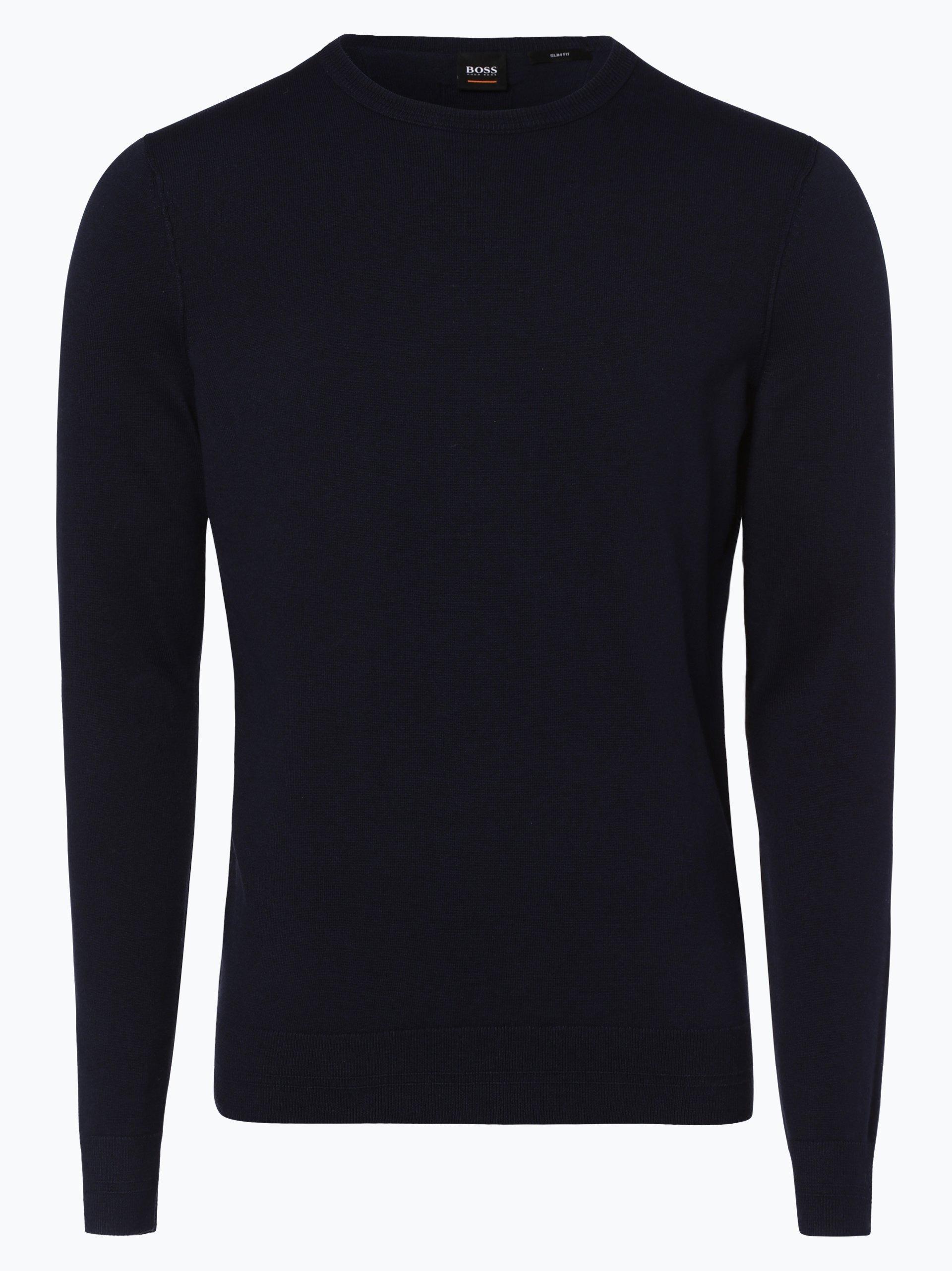 boss casual herren pullover mit cashmere anteil kwasiros. Black Bedroom Furniture Sets. Home Design Ideas