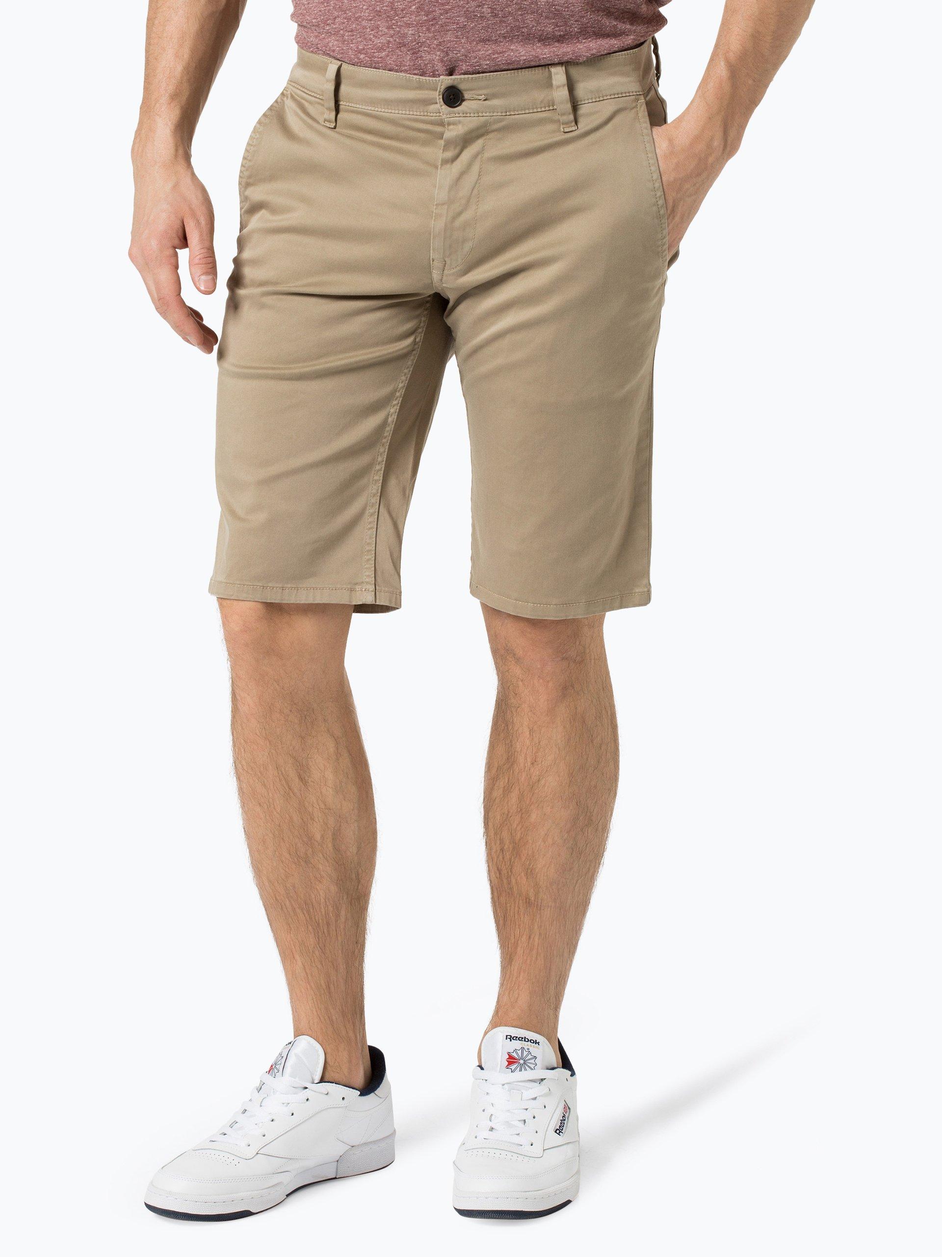 boss casual herren shorts schino regular shorts d beige. Black Bedroom Furniture Sets. Home Design Ideas