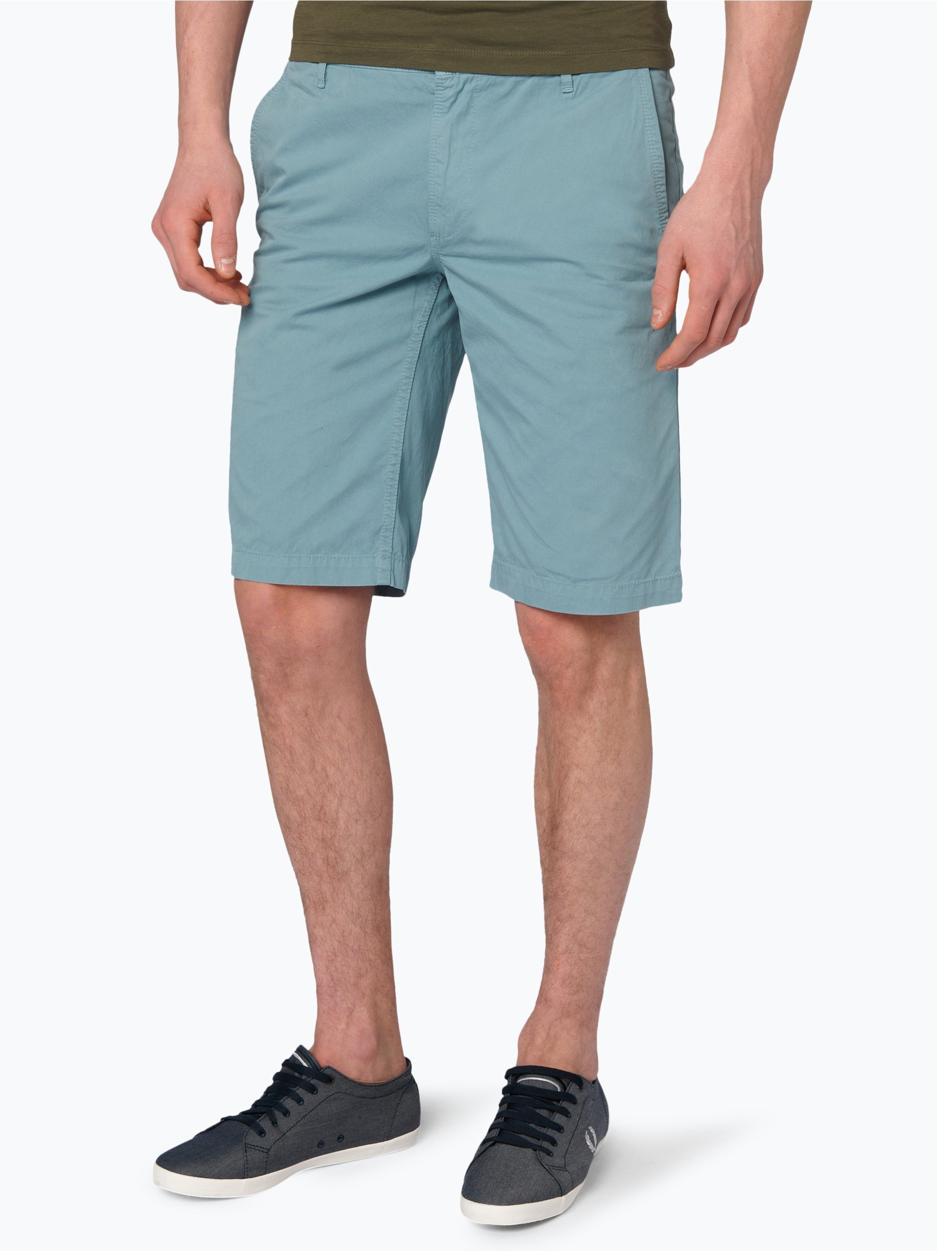 boss casual herren shorts schino shorts hellblau uni. Black Bedroom Furniture Sets. Home Design Ideas