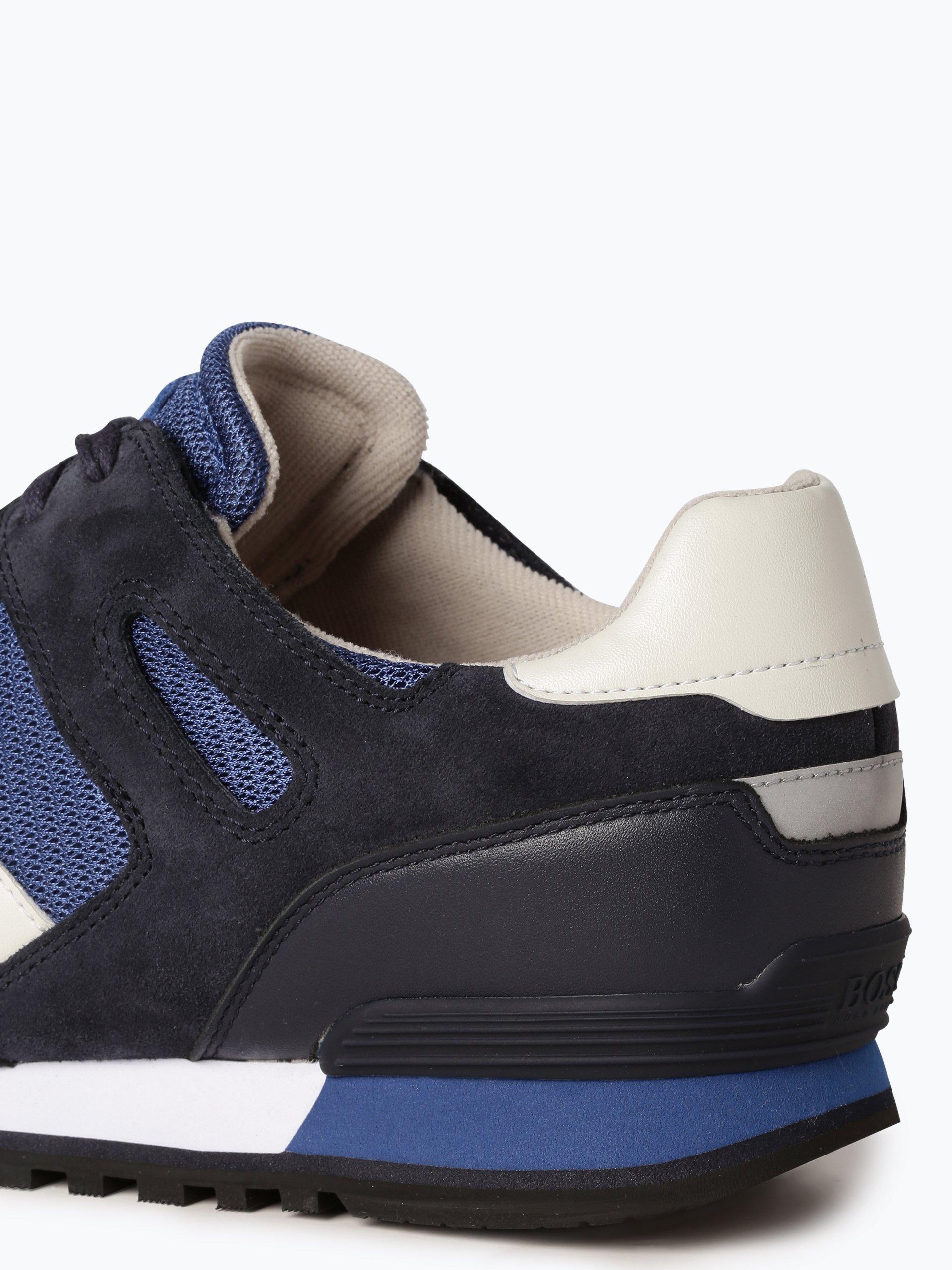 BOSS Casual Herren Sneaker mit Leder-Anteil - Verve_Runn_mx