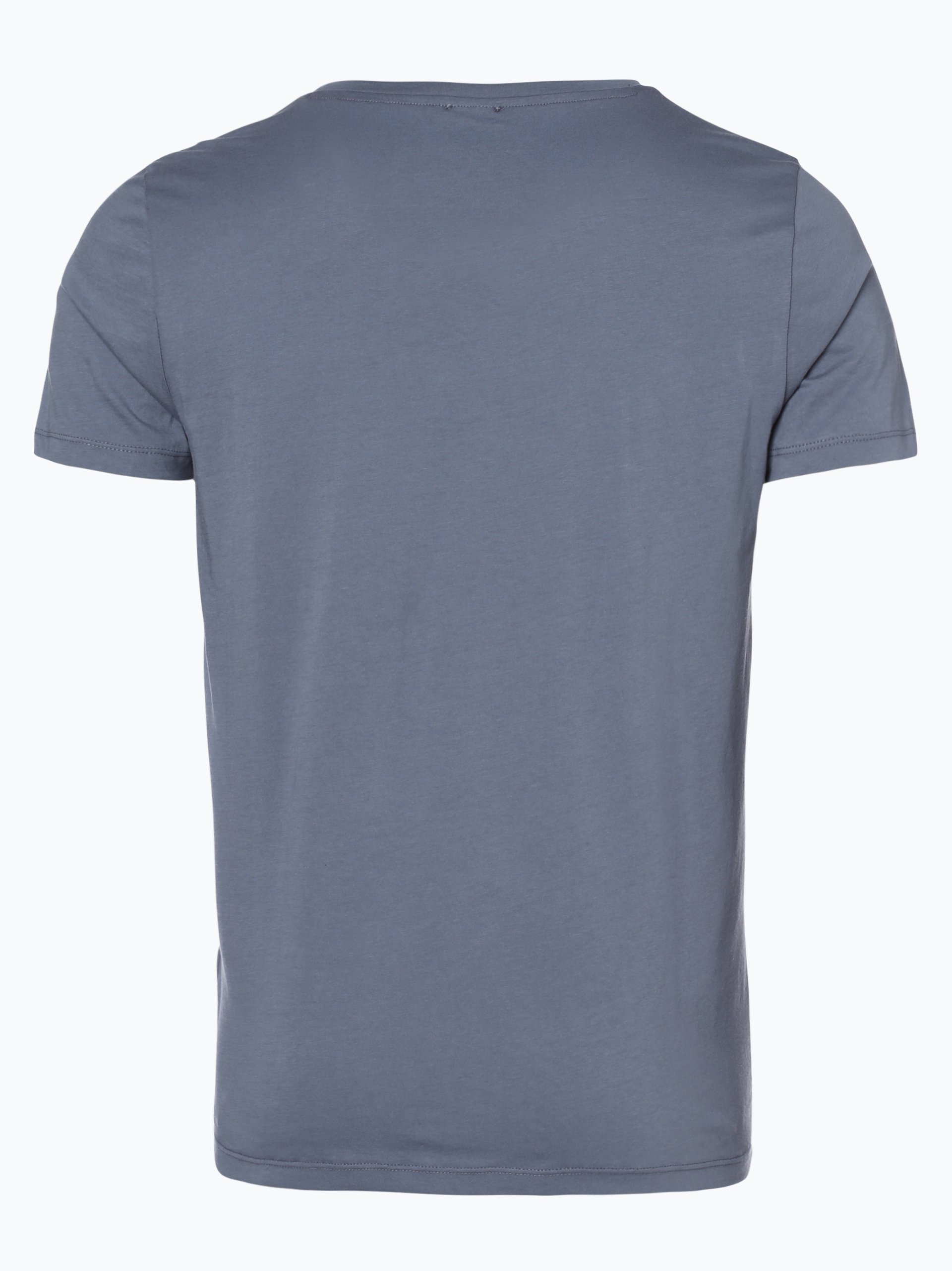 boss casual herren t shirt tew grau gemustert online. Black Bedroom Furniture Sets. Home Design Ideas