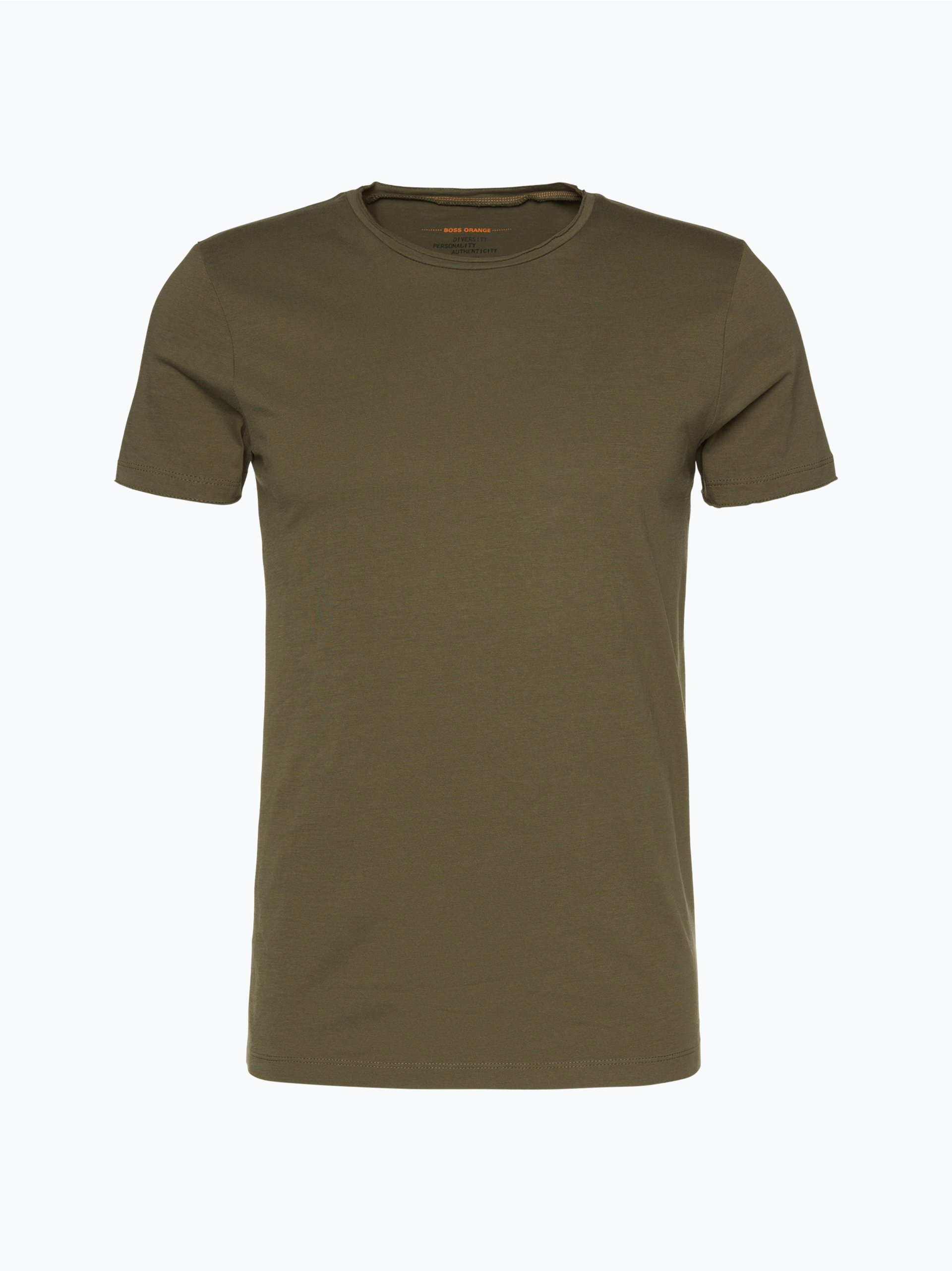 boss casual herren t shirt tooles oliv uni online kaufen. Black Bedroom Furniture Sets. Home Design Ideas