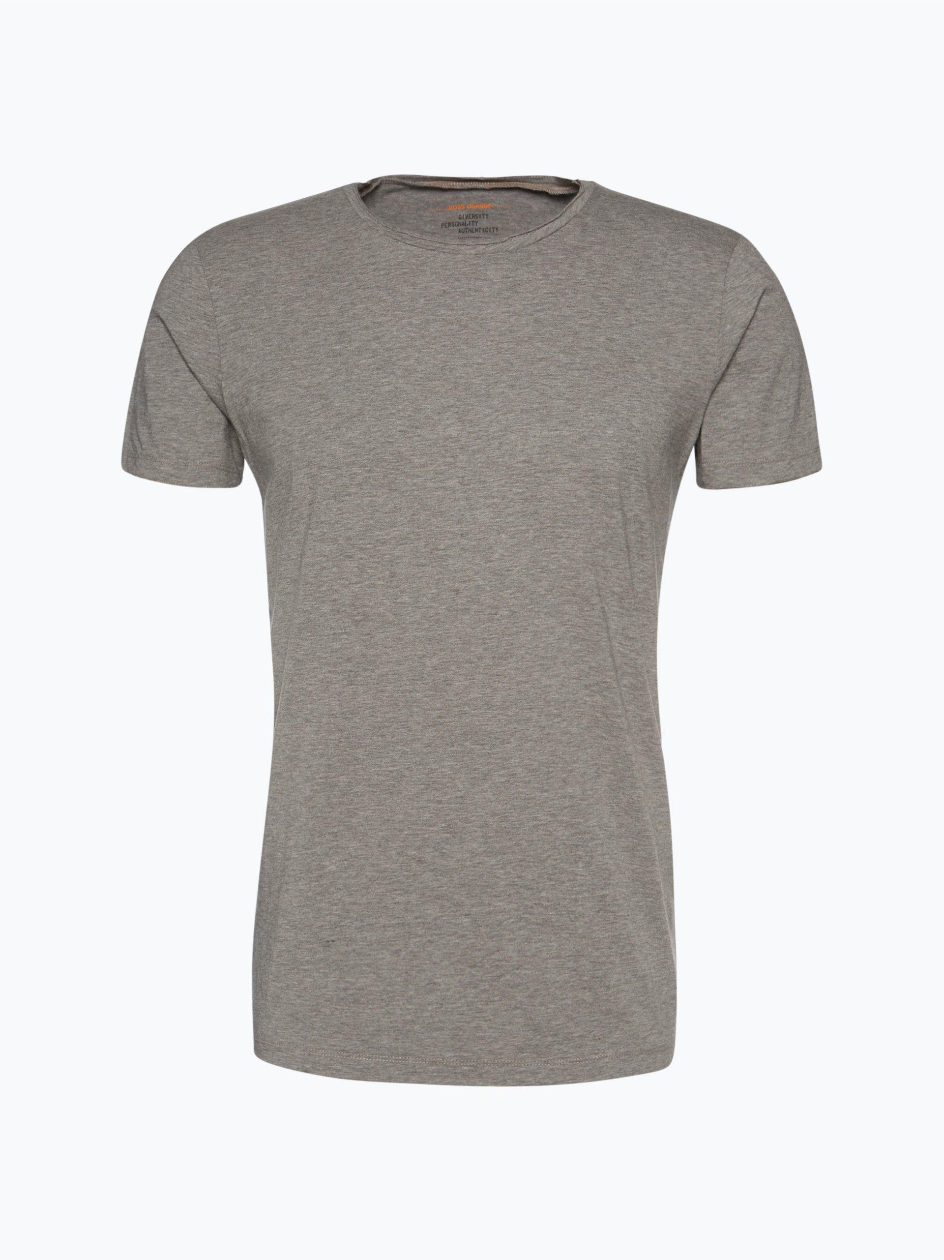 boss casual herren t shirt tooles grau uni online kaufen. Black Bedroom Furniture Sets. Home Design Ideas