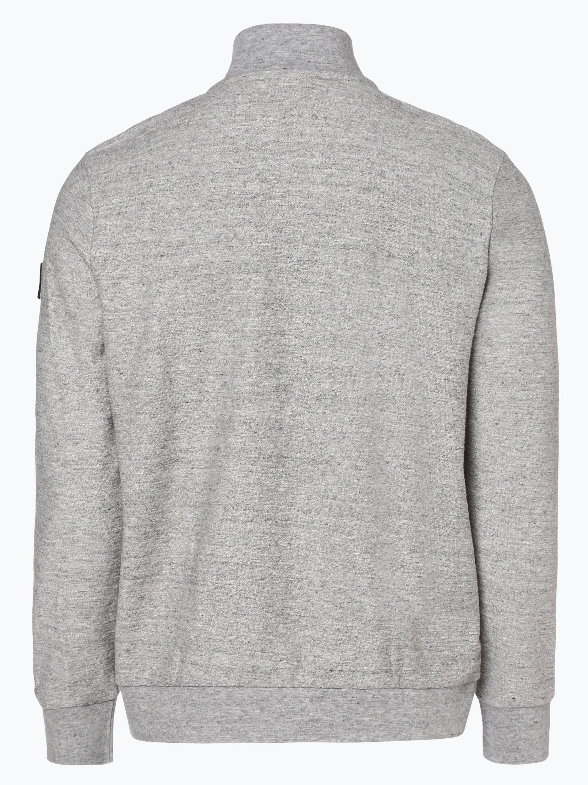 BOSS Casual Męska bluza rozpinana – Zaldo