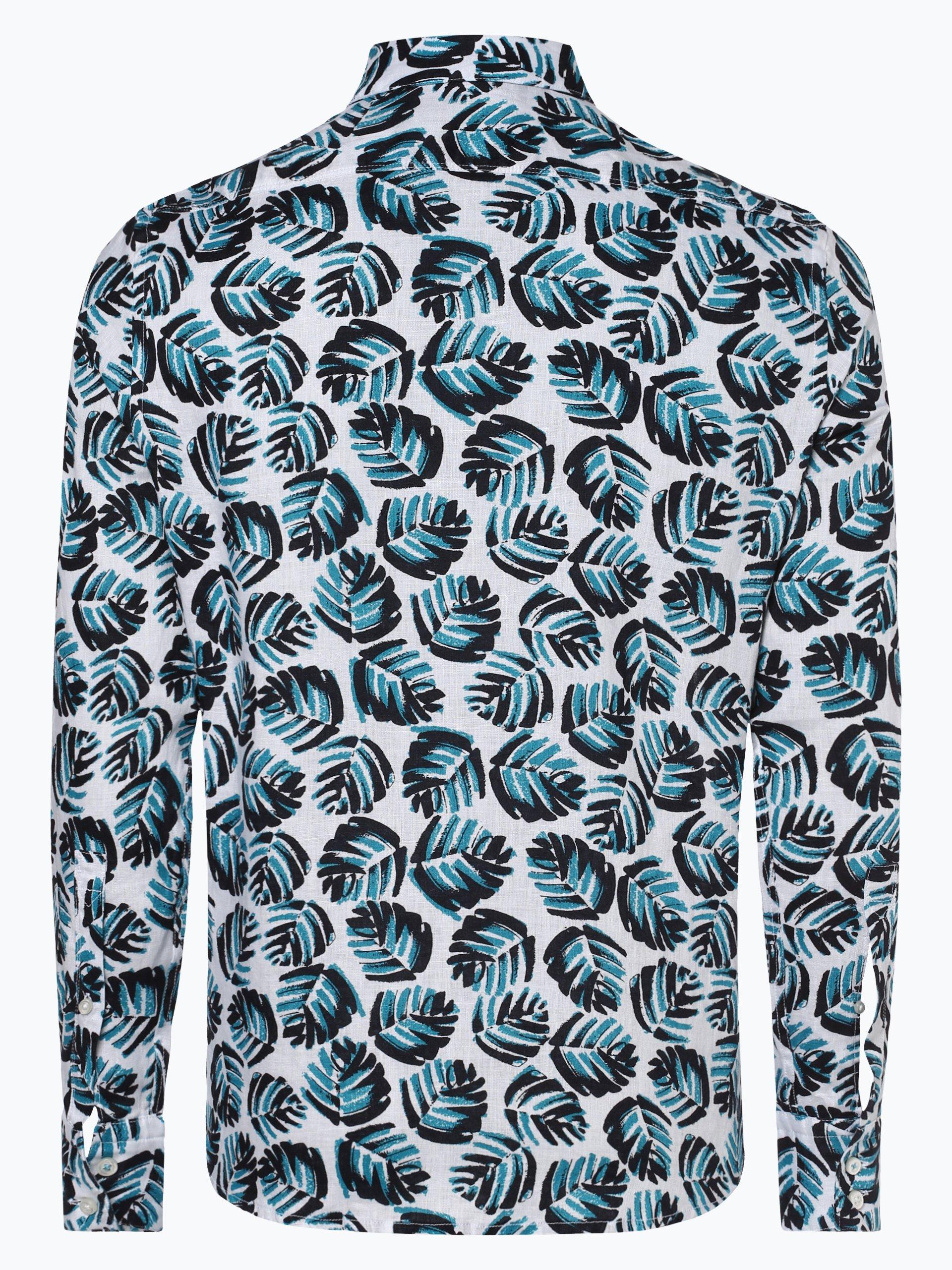 BOSS Casual Męska koszula lniana – Relegant_1