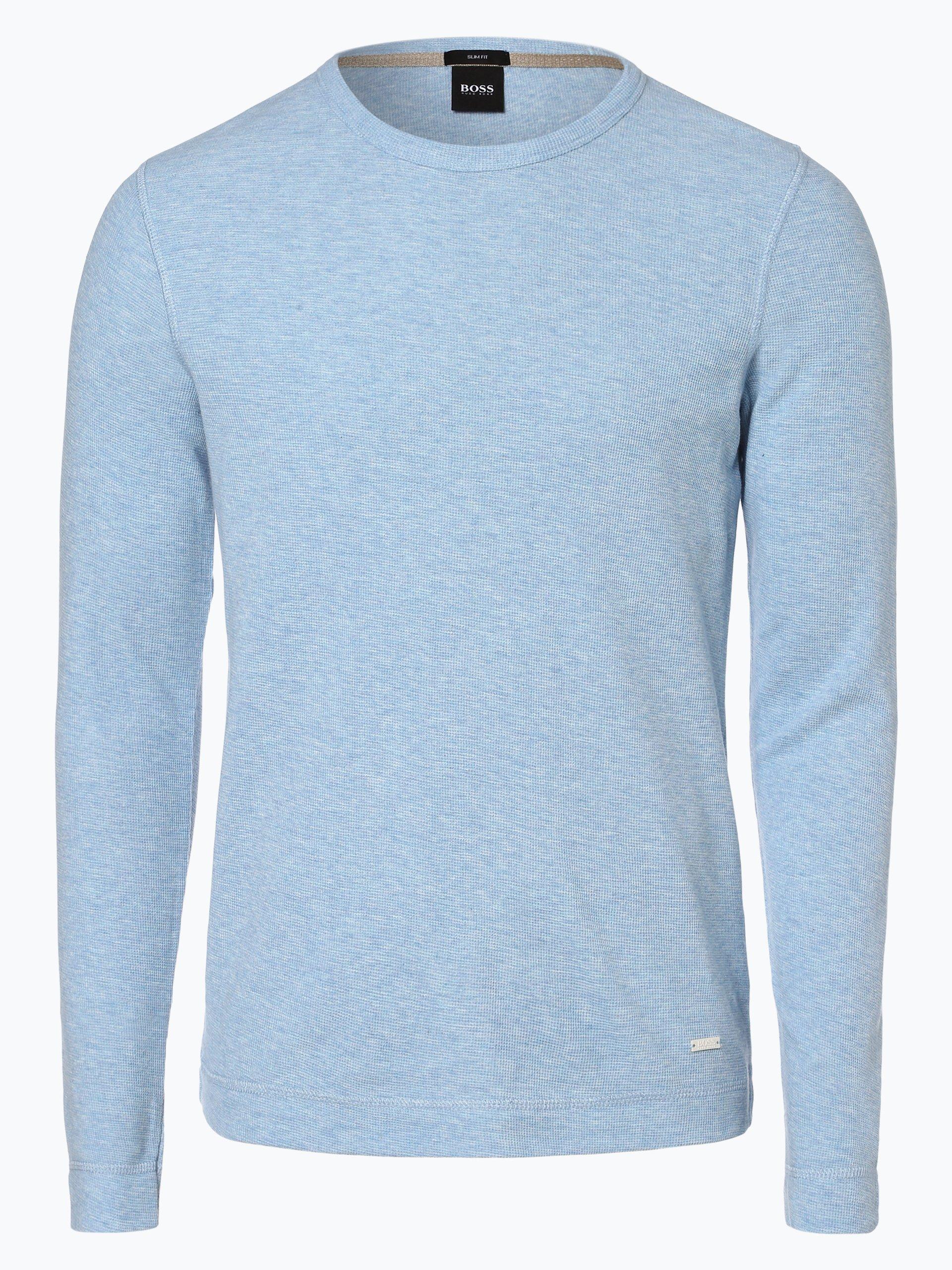 BOSS Casual Męska koszulka z długim rękawem – Tempest