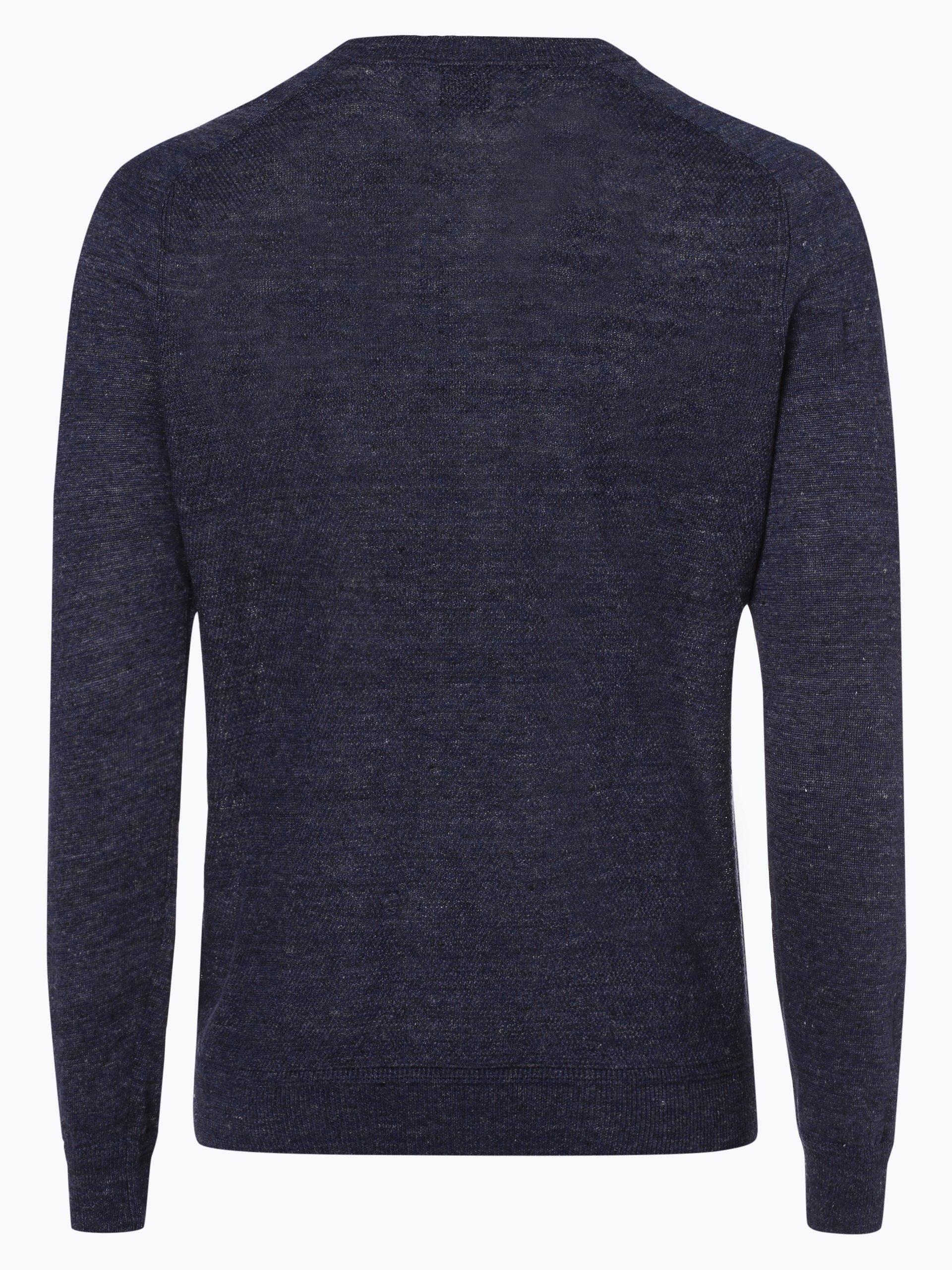 BOSS Casual Męski sweter z lnu – Kasivol