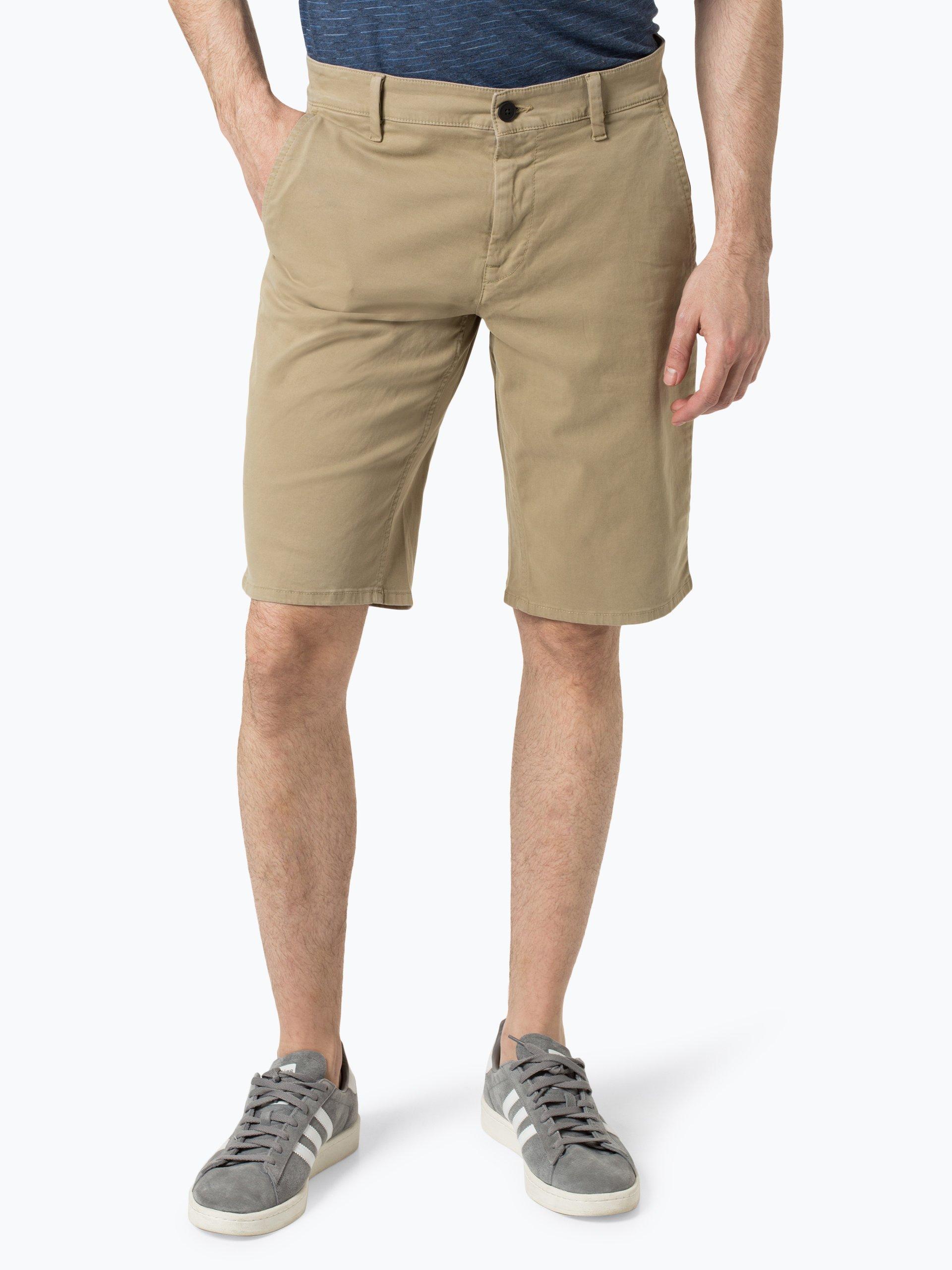 BOSS Casual Spodenki męskie – Schino-Slim Shorts