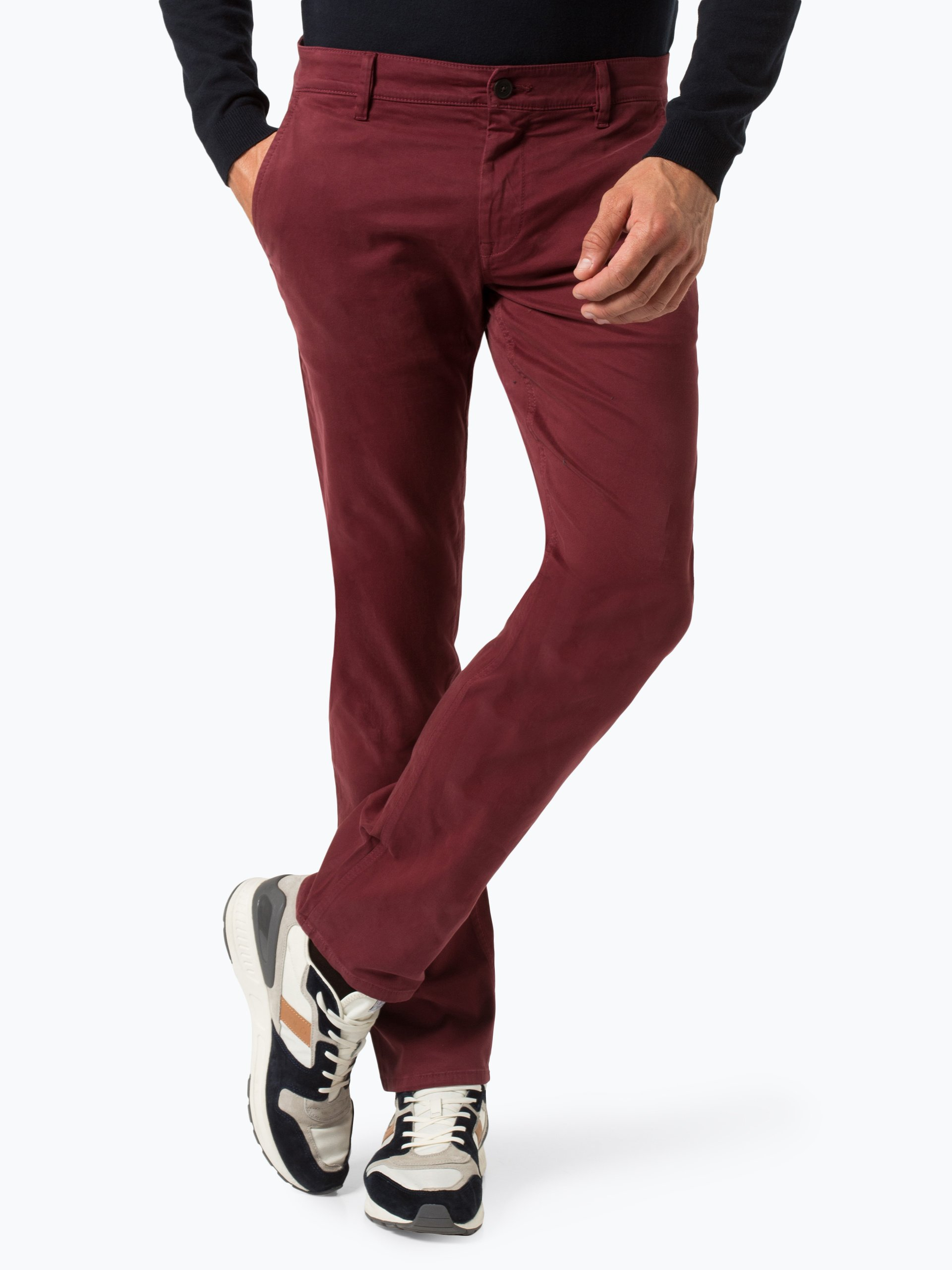 BOSS Casual Spodnie męskie – Schino-Regular D