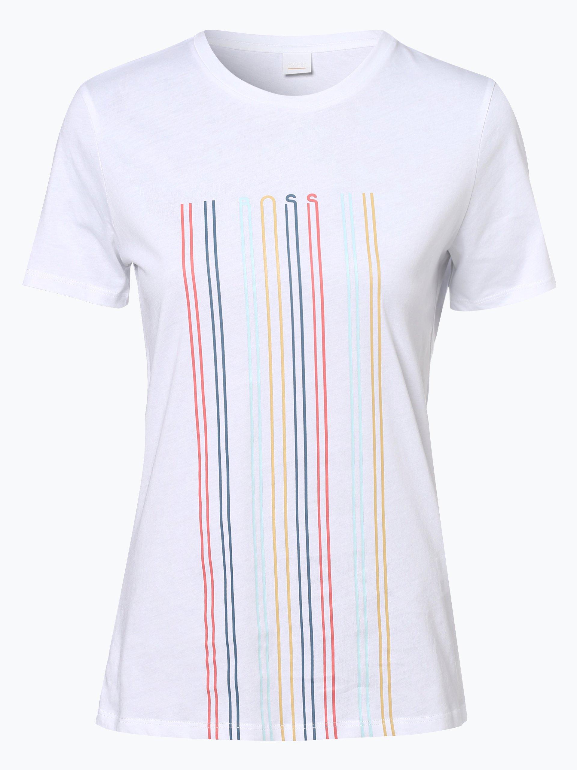 BOSS Casual T-shirt damski – Teblurred