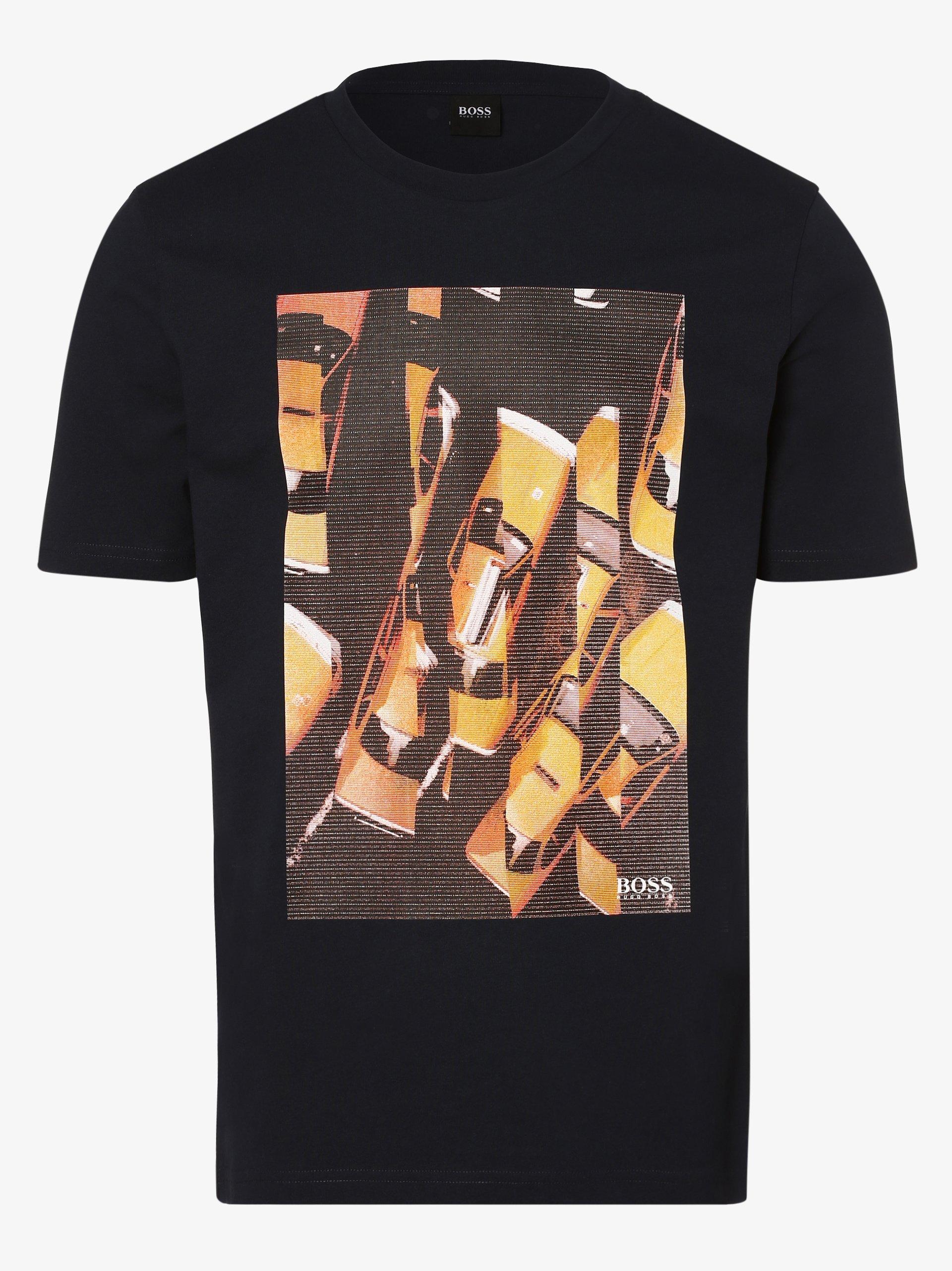 BOSS Casual T-shirt męski – Trek 1