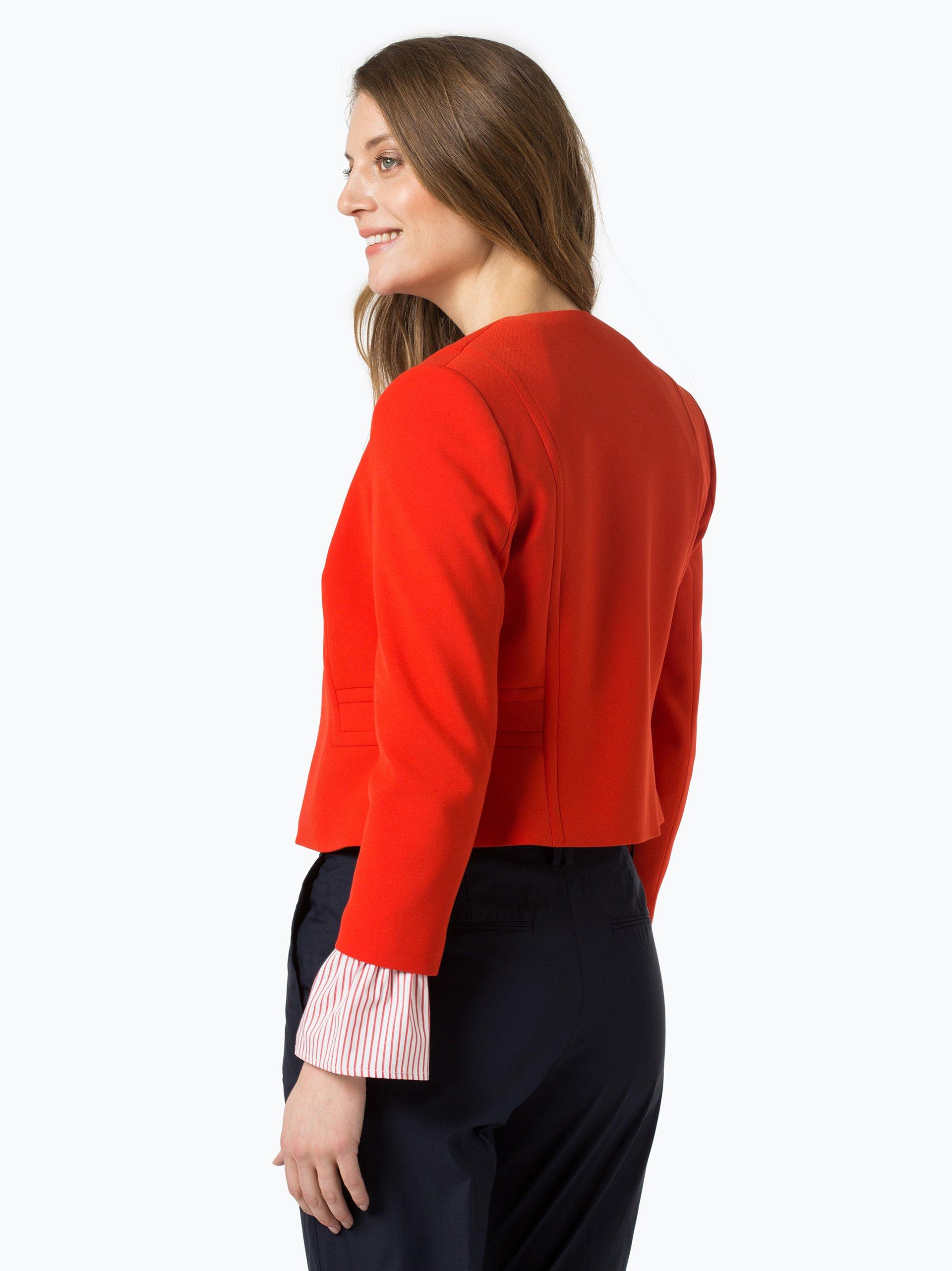 boss damen blazer jadama rot uni online kaufen peek und cloppenburg de. Black Bedroom Furniture Sets. Home Design Ideas