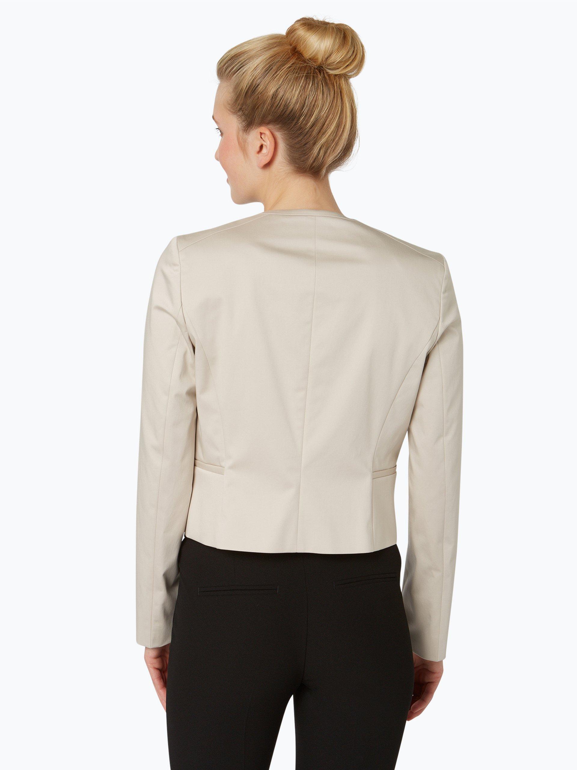 boss damen blazer jelanea beige uni online kaufen vangraaf com. Black Bedroom Furniture Sets. Home Design Ideas
