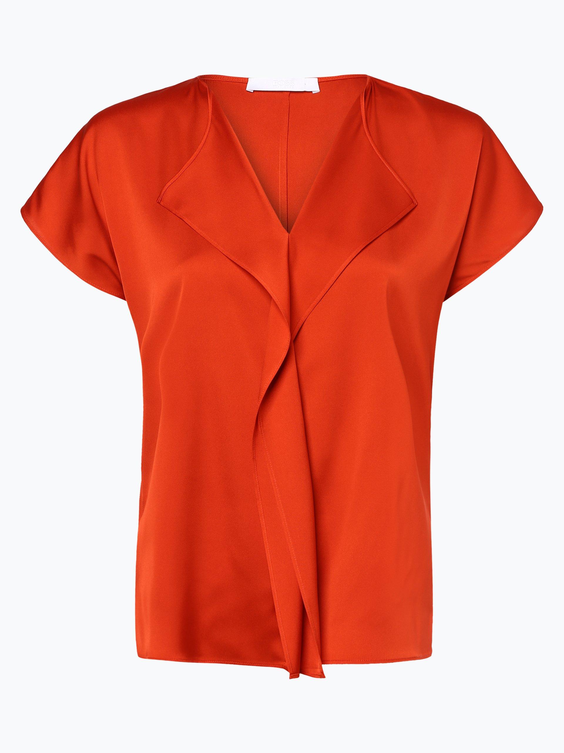 BOSS Damen Bluse aus Seiden-Mix - Intessa