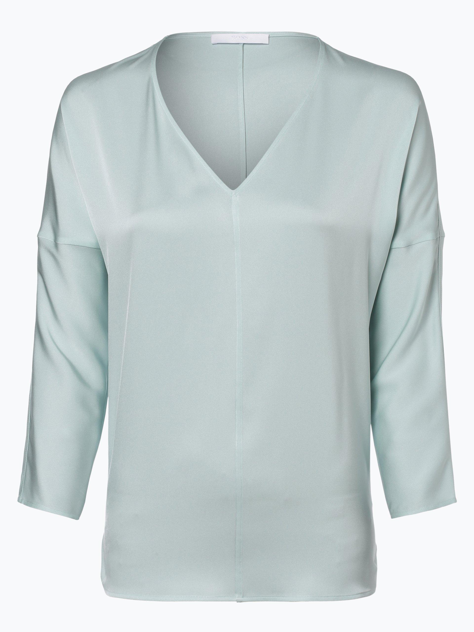 BOSS Damen Blusenshirt aus Seiden-Mix - Inuka