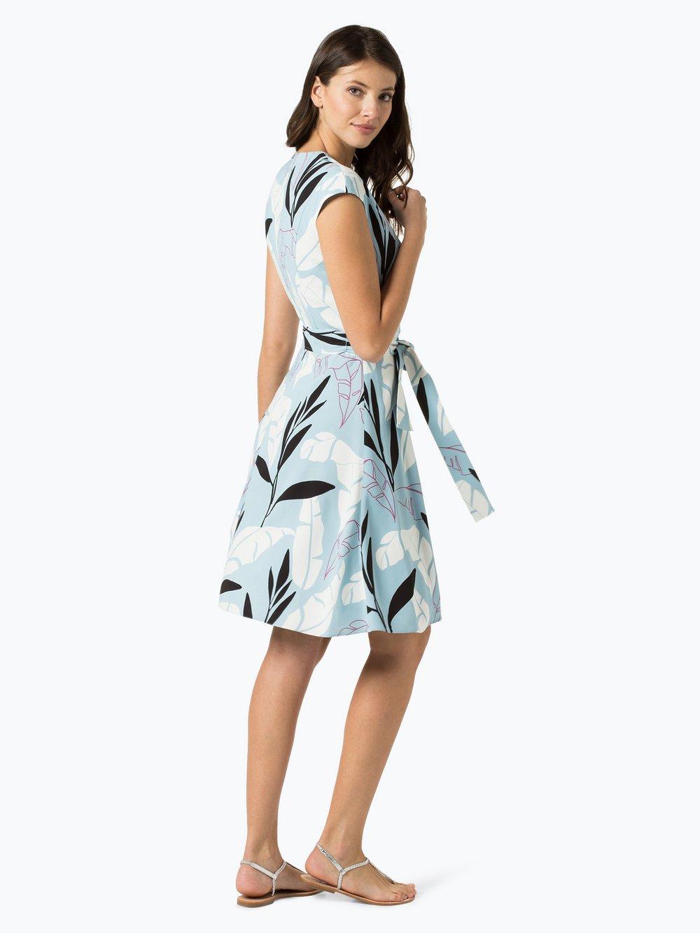 BOSS Damen Kleid - Doliana hellblau gemustert online kaufen | PEEK ...