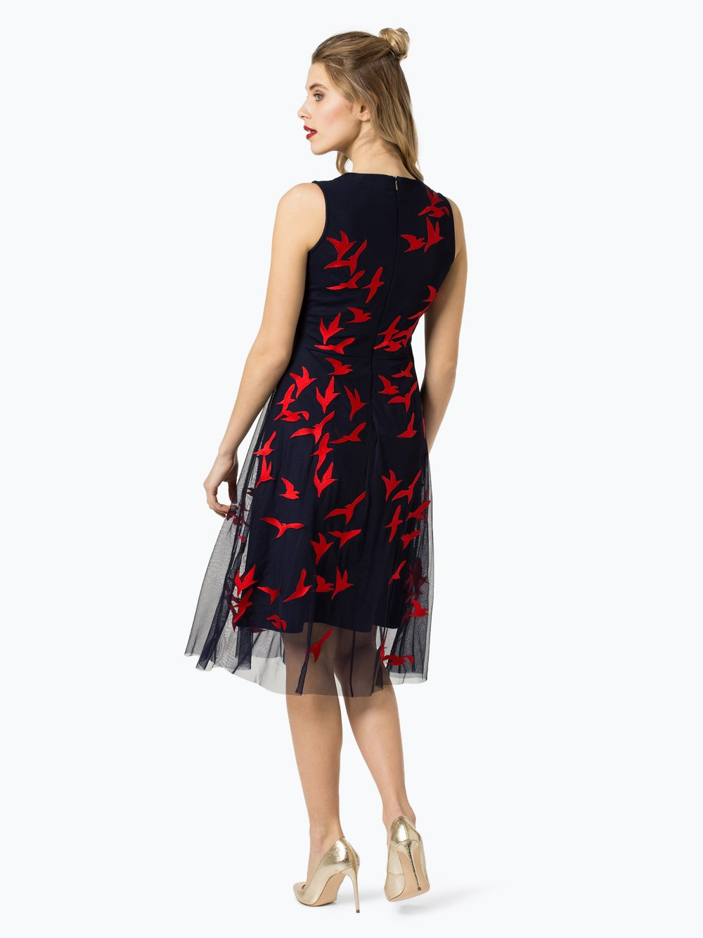BOSS Damen Kleid - Enerva marine rot gemustert online kaufen | PEEK ...