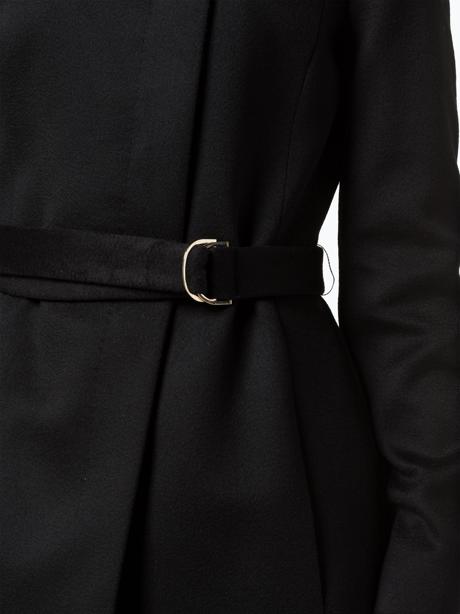 Boss damen mantel schwarz