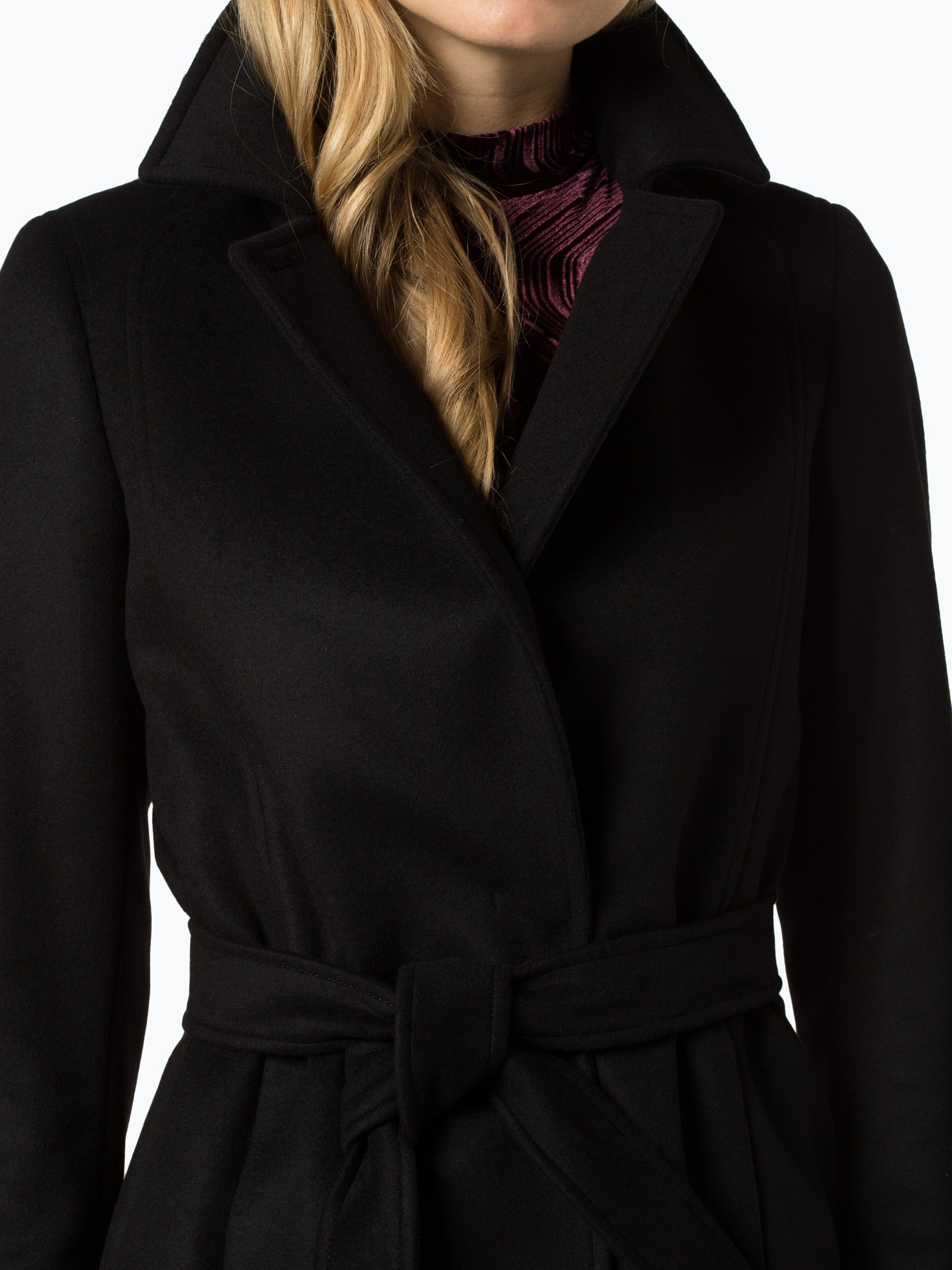 boss damen mantel mit cashmere anteil canika1 online. Black Bedroom Furniture Sets. Home Design Ideas