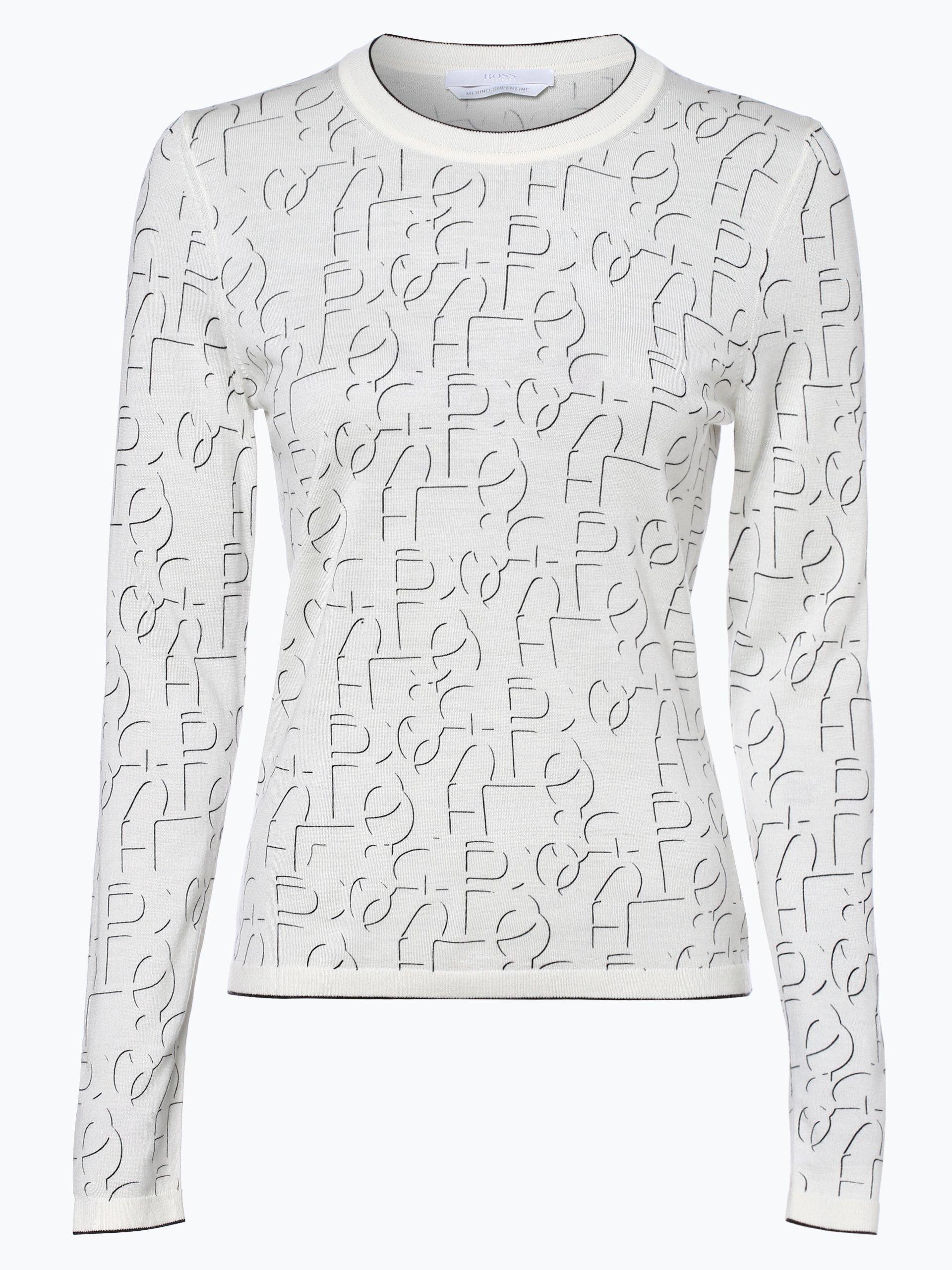 BOSS Damen Pullover aus Merinowolle - Fermila