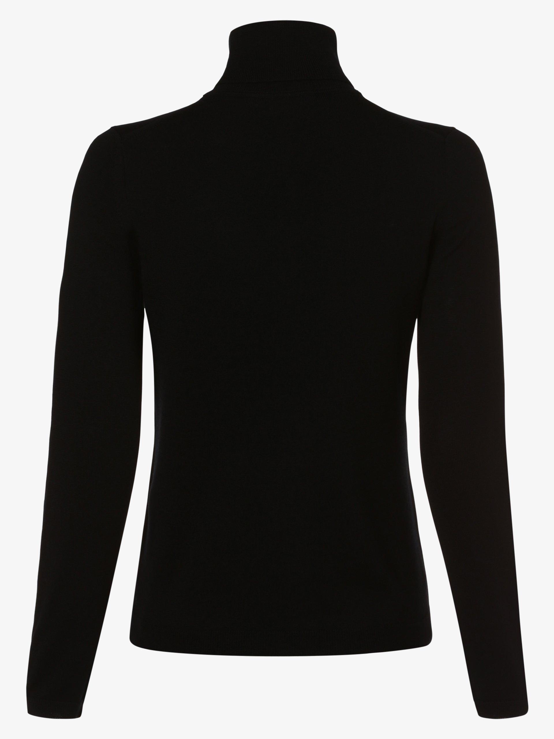 BOSS Damski sweter z wełny merino – Famaurie