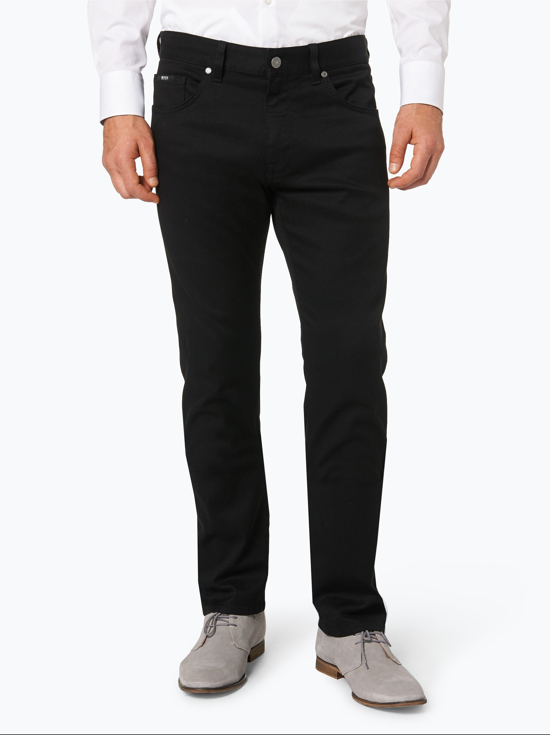 boss green herren jeans c maine1 schwarz uni online kaufen peek und cloppenburg de. Black Bedroom Furniture Sets. Home Design Ideas