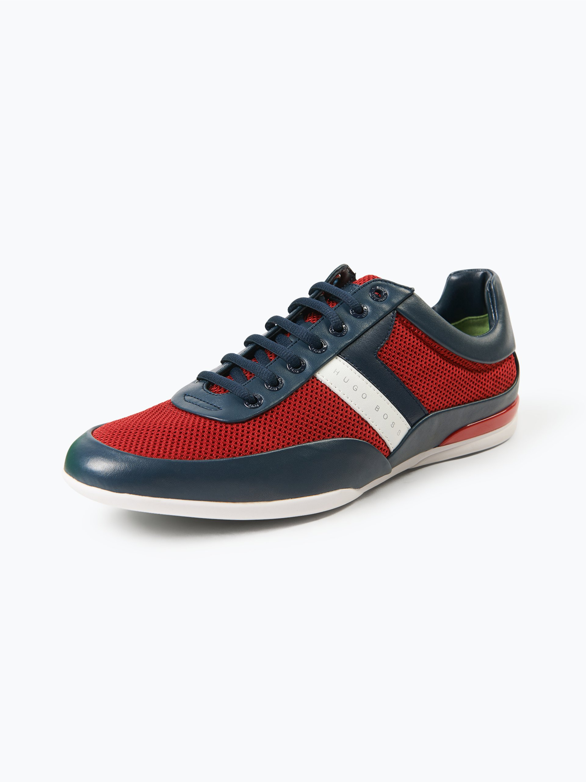 boss green herren sneaker mit leder anteil space lowp syme rot uni online kaufen peek und. Black Bedroom Furniture Sets. Home Design Ideas