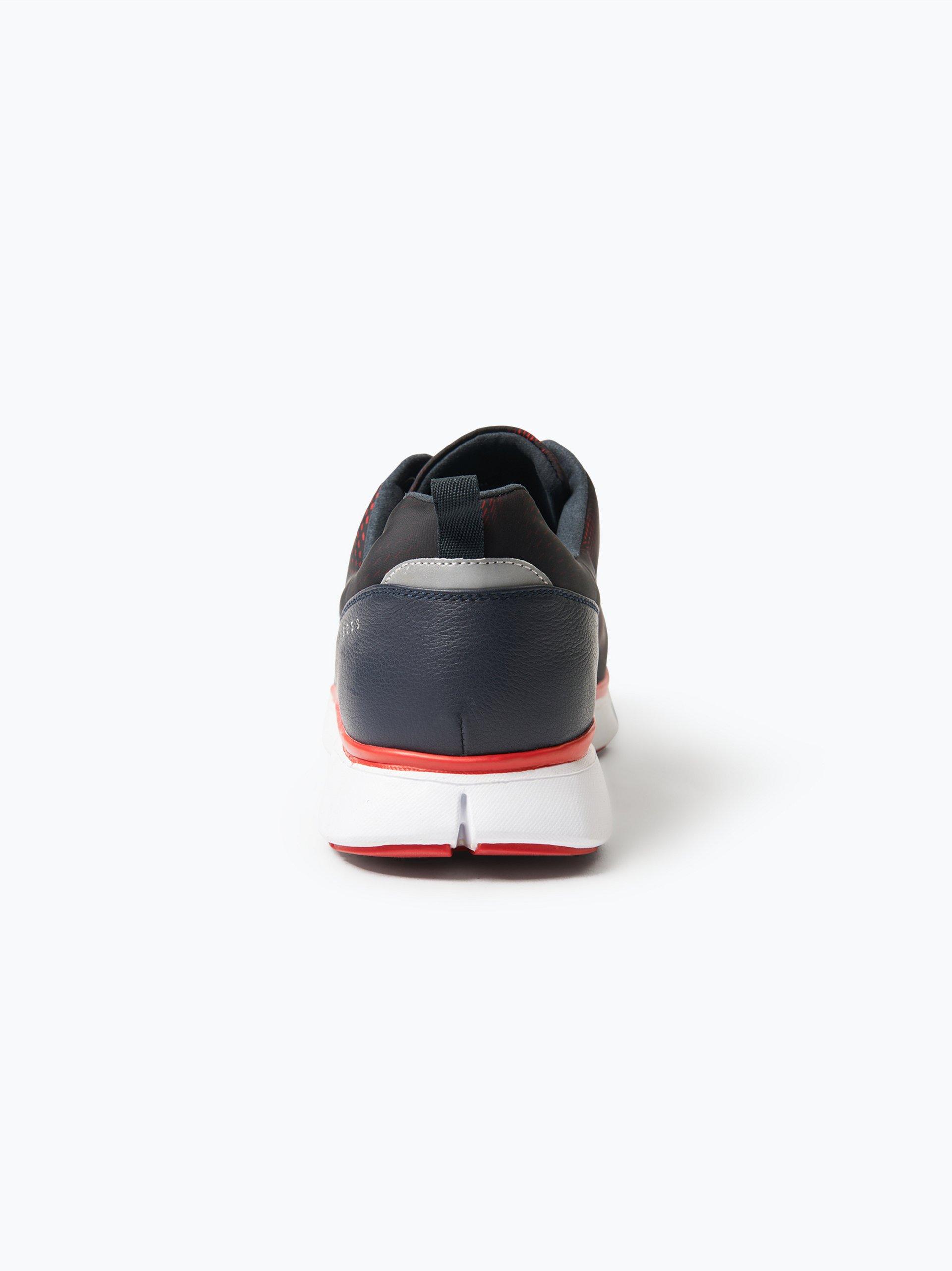 BOSS Green Herren Sneaker mit Leder-Besatz - Gym_Runn_nypr1