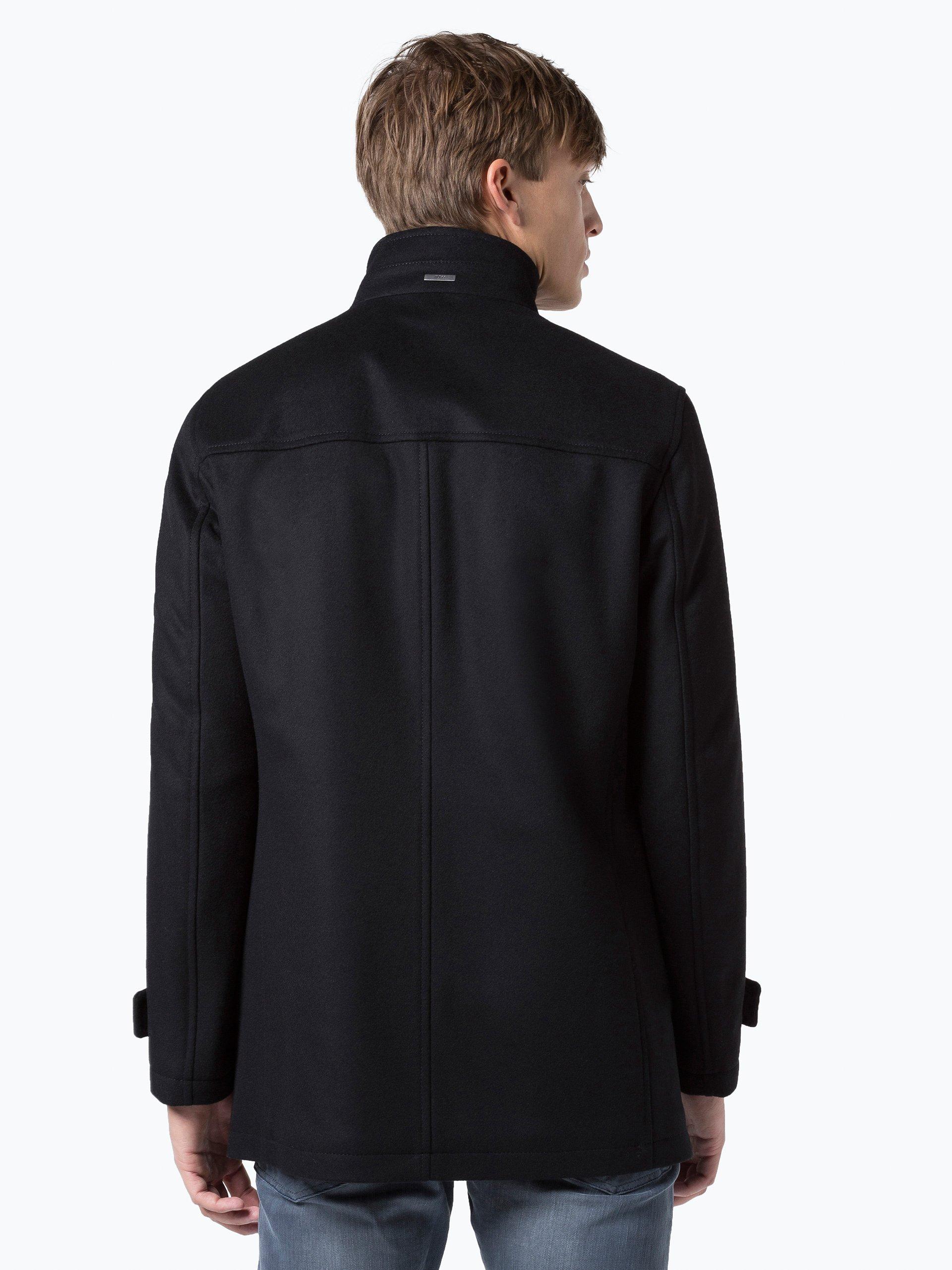 boss herren jacke mit cashmere anteil camlow1 schwarz. Black Bedroom Furniture Sets. Home Design Ideas