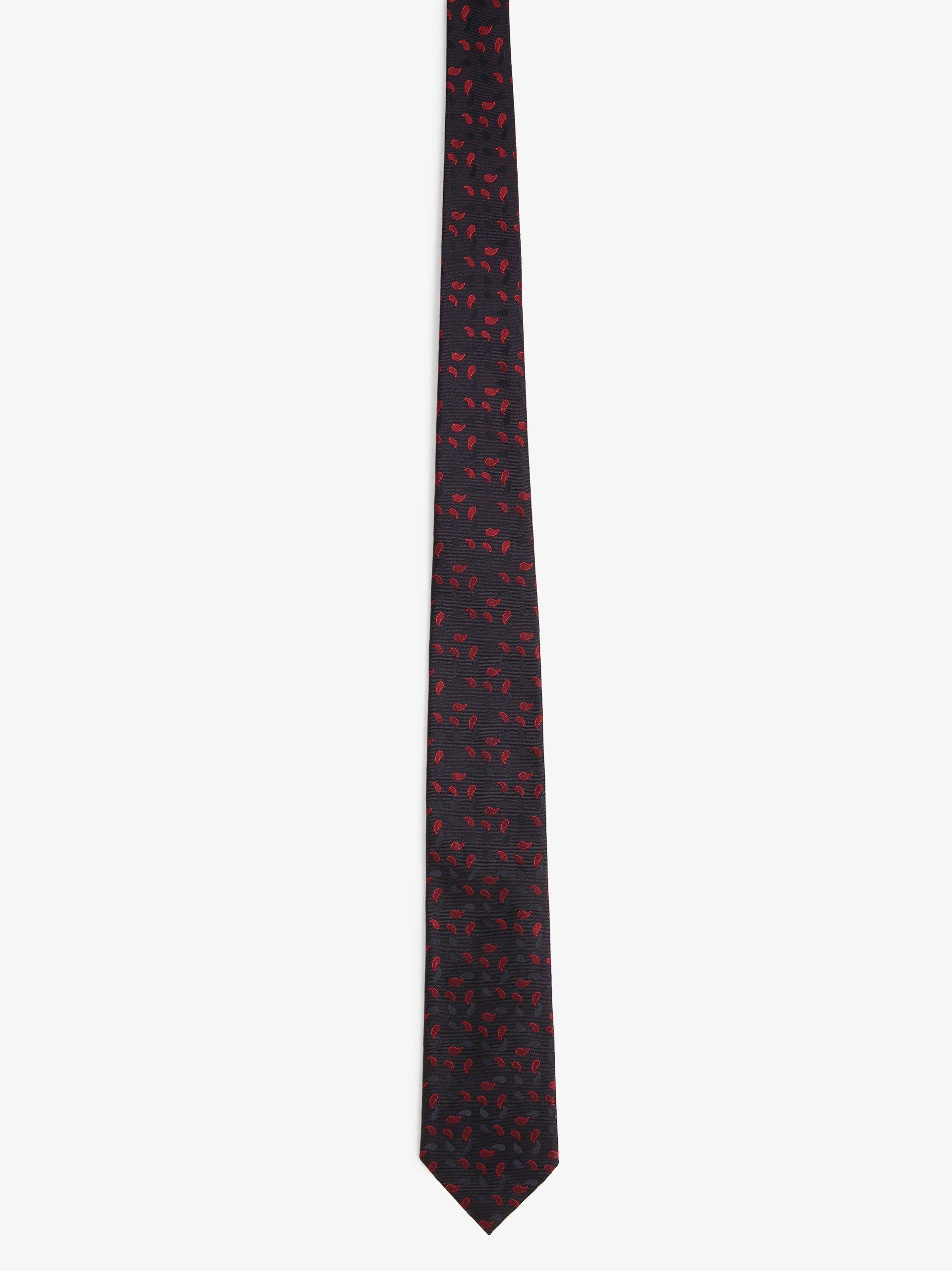 BOSS Herren Krawatte mit Seiden-Anteil