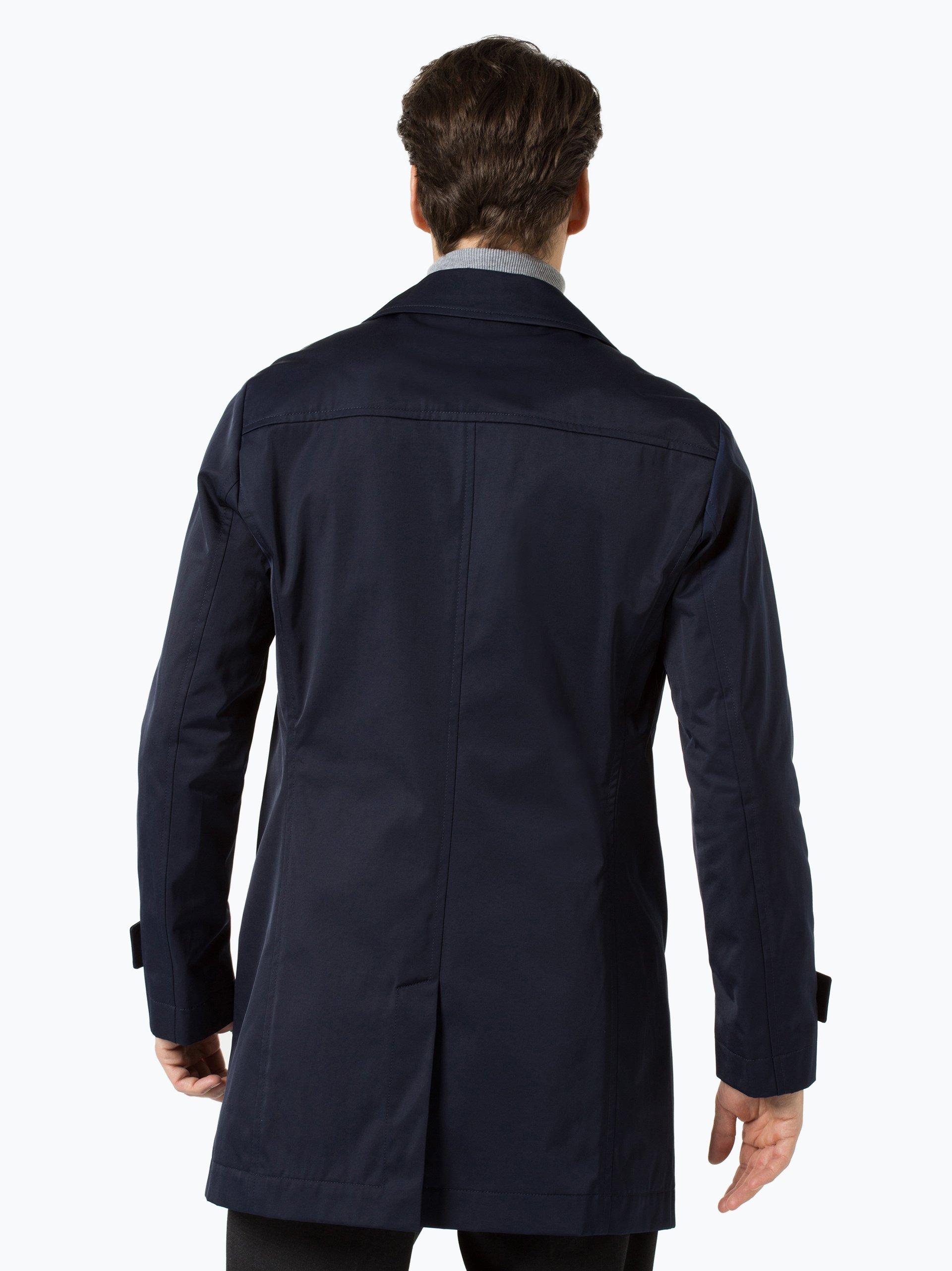 boss herren mantel dais15 marine uni online kaufen. Black Bedroom Furniture Sets. Home Design Ideas