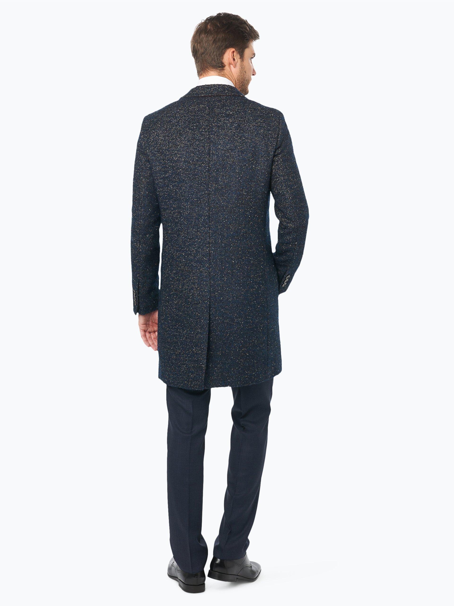 boss herren mantel mit alpaka mohair und seiden anteil. Black Bedroom Furniture Sets. Home Design Ideas