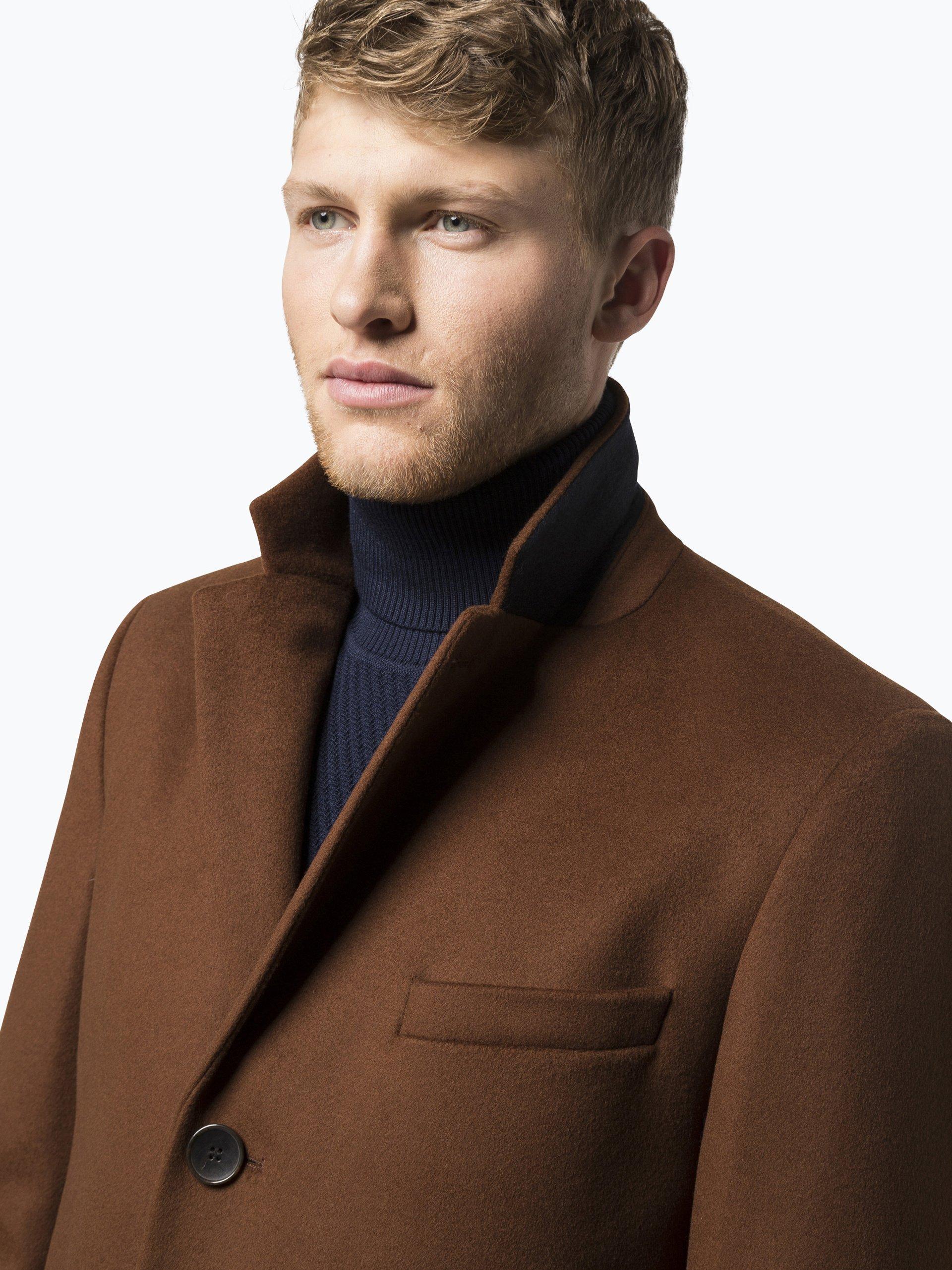 boss herren mantel mit cashmere anteil nye1 online. Black Bedroom Furniture Sets. Home Design Ideas