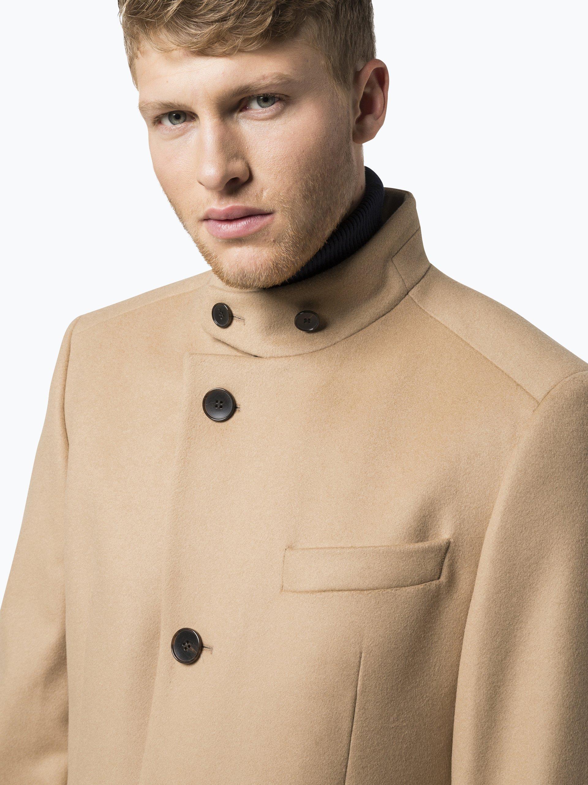 boss herren mantel mit cashmere anteil sintrax2 online. Black Bedroom Furniture Sets. Home Design Ideas