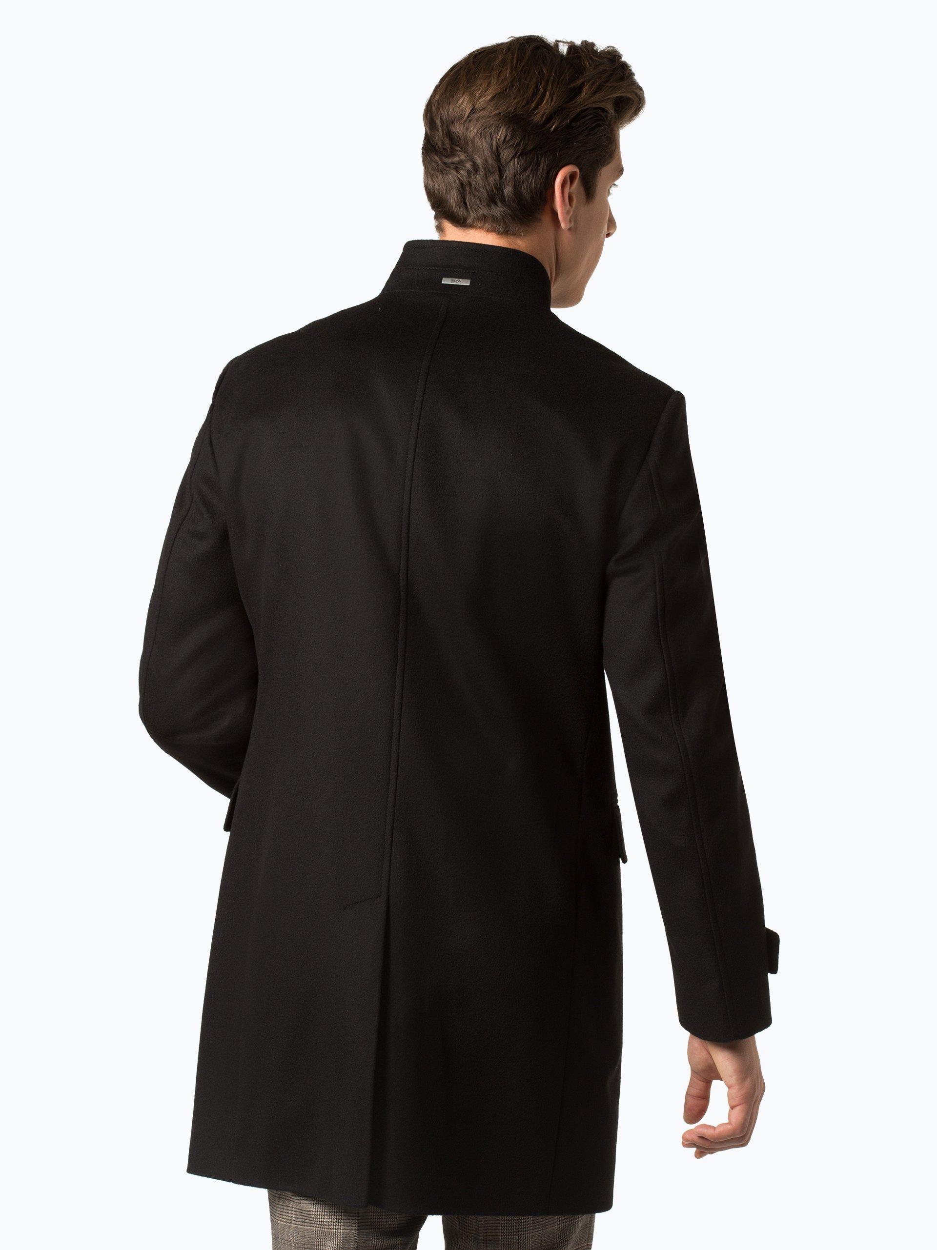 Boss mantel herren stehkragen