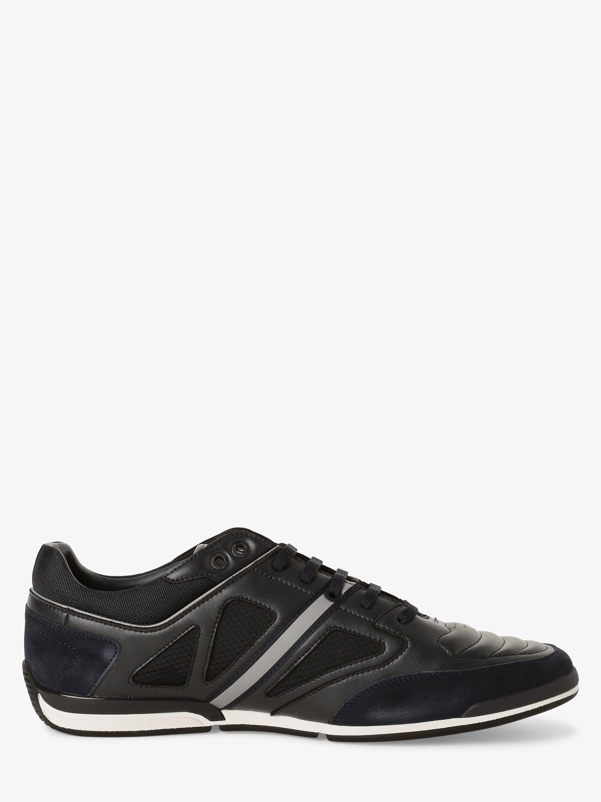 BOSS Herren Sneaker mit Leder-Anteil - Saturn_Lowp_strf